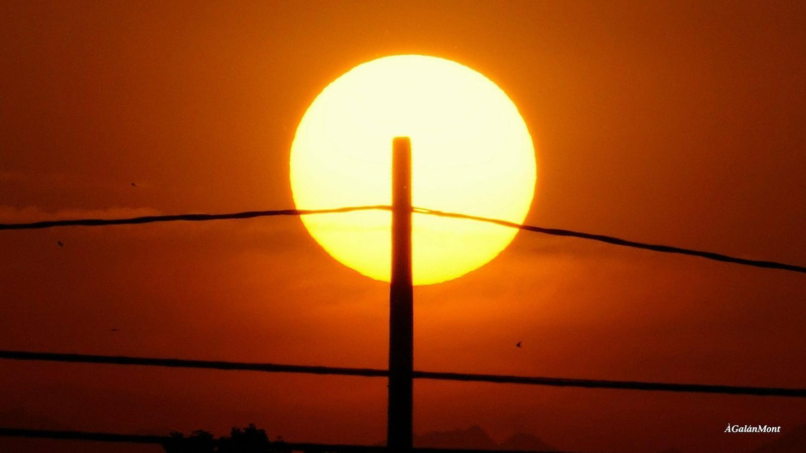 L'onada de calor tocarà sostre avui