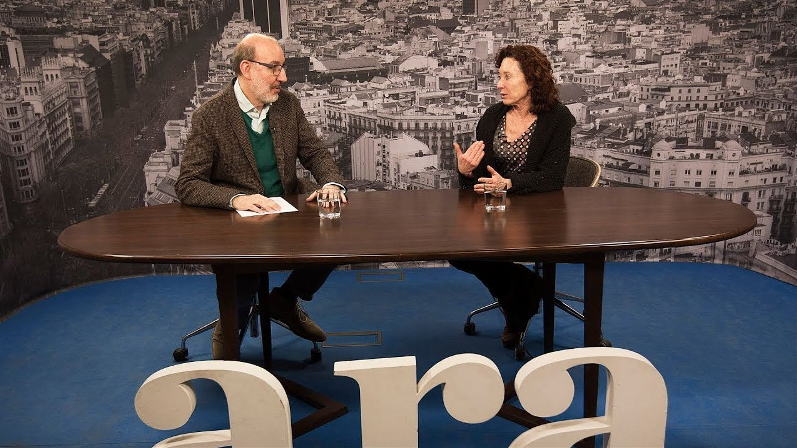Entrevista d'Antoni Bassas a Maite Carranza