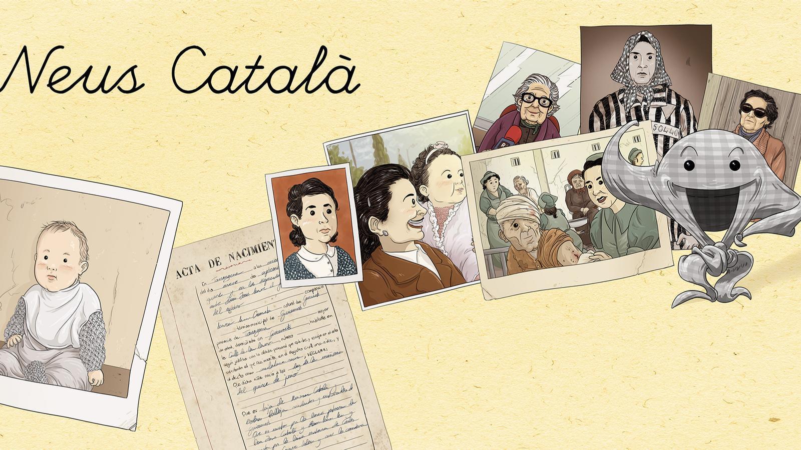 La biografia de Neus Català
