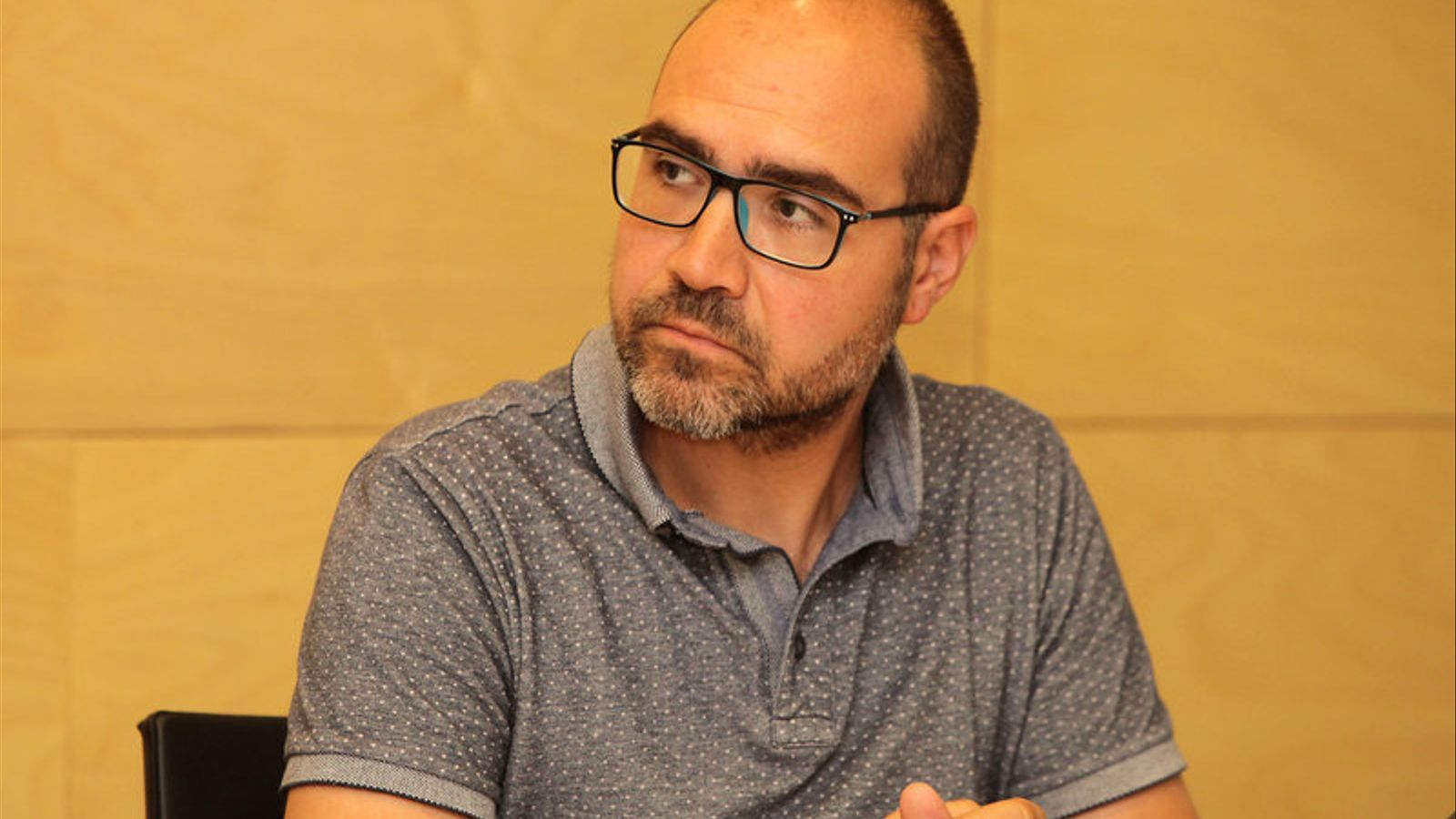 Imatge de Narcís Fajula que demà es convertirà en el nou alcalde de Sarrià de Ter