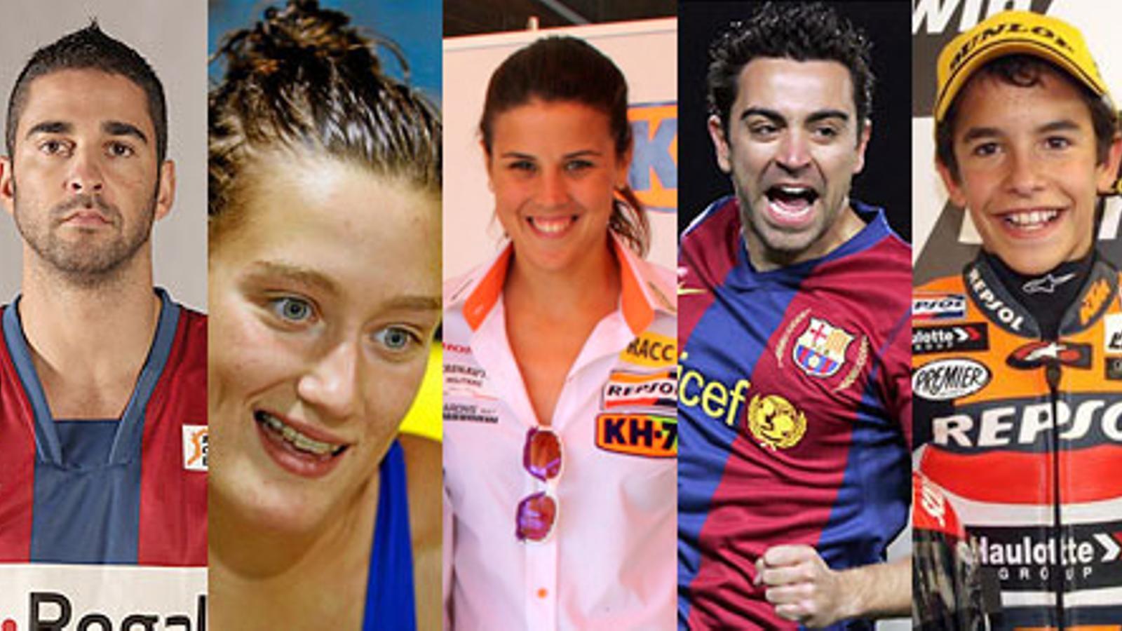 Els millors catalans del 2010