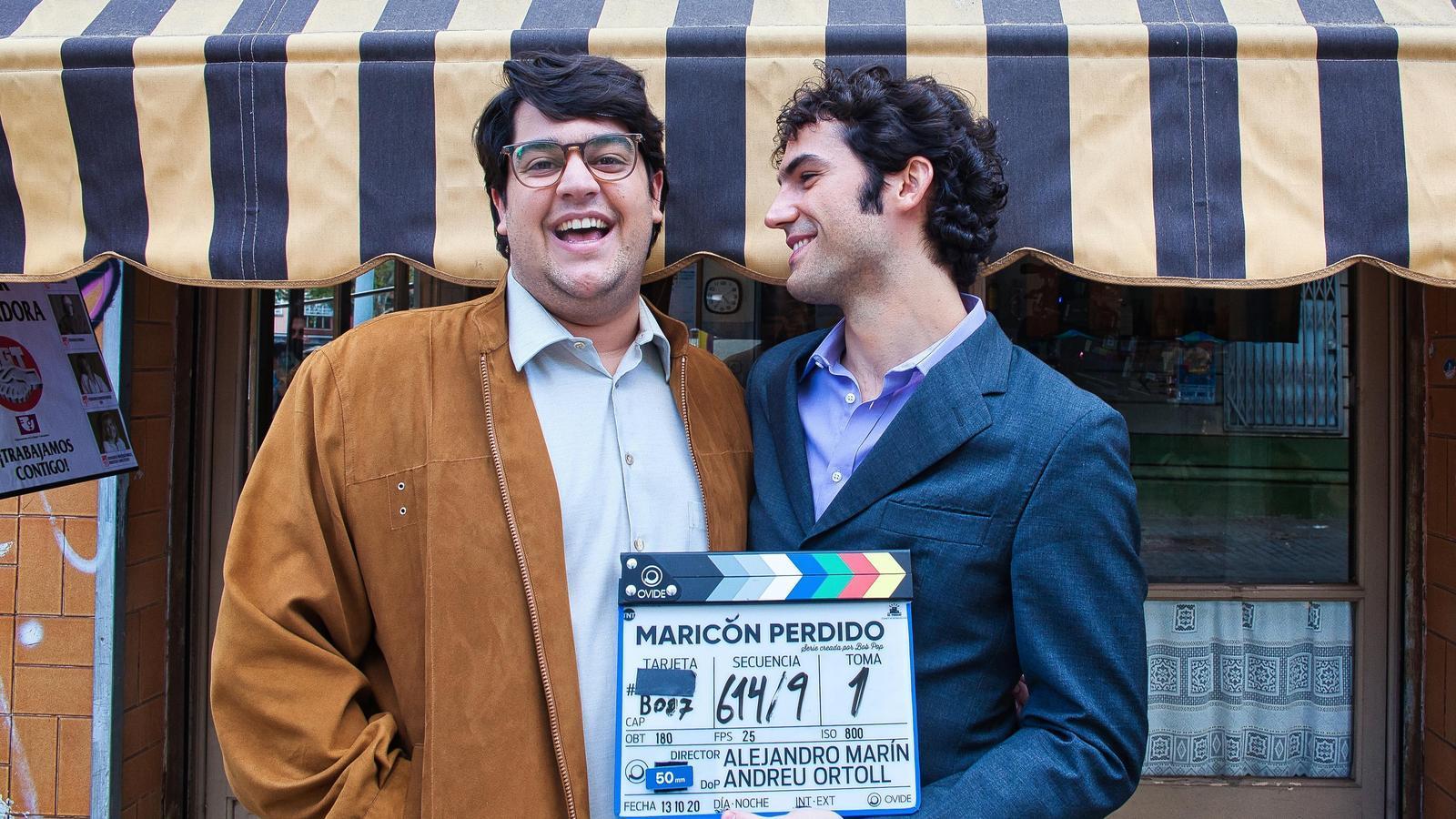 Carlos González –a l'esquerra– donarà vida a Bob Pop a 'Maricón Perdido'