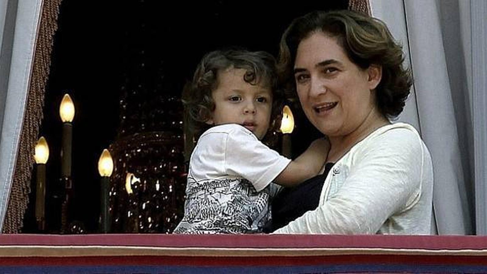 Ada Colau anuncia que espera el seu segon fill
