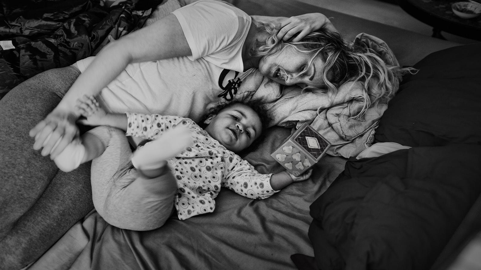 Axelle de Russe ha fotografiat dones que intenten refer les seves vides fora de la presó. Axelle de Russe