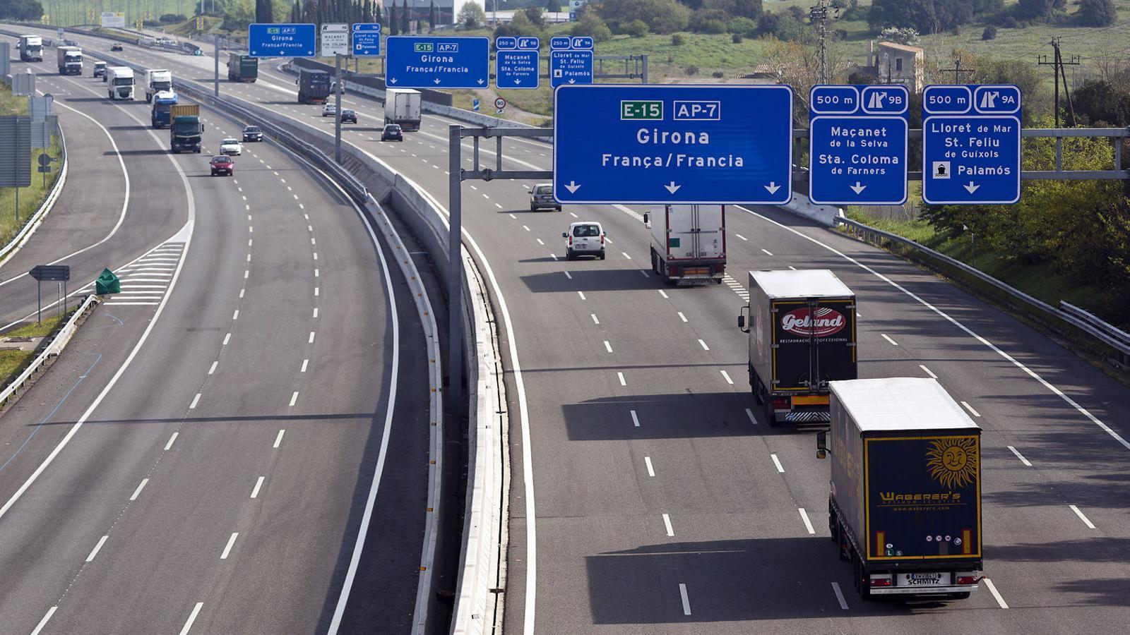 L'Estat fa marxa enrere i prorrogarà les concessions d'autopistes pel covid
