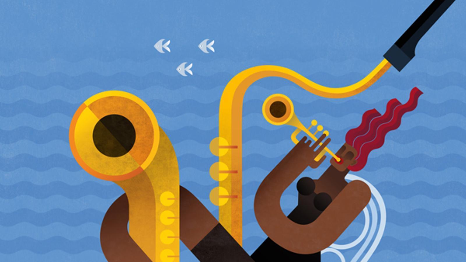 Cartell del festival de jazz de Monterrey