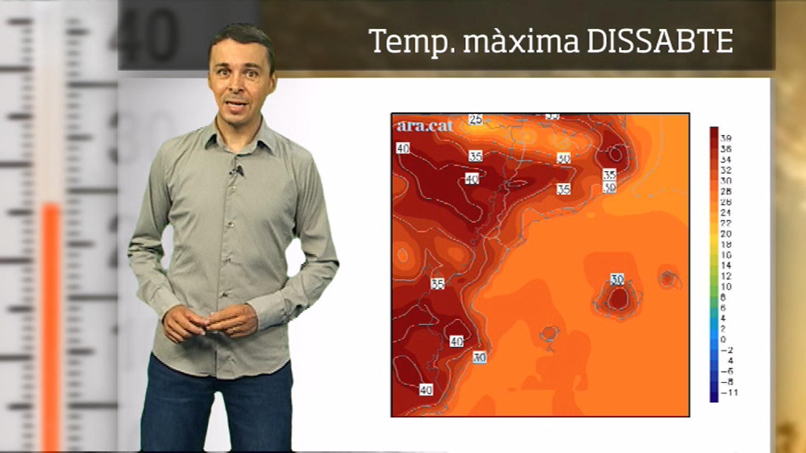 La méteo en 1 minut: s'acosta un nou pic de calor