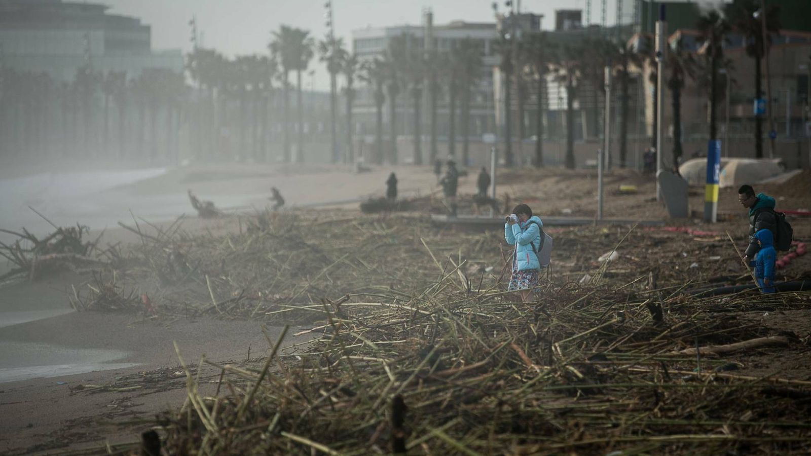 Govern aconsella evitar les activitats a l'aire lliure per arribada de pols africana