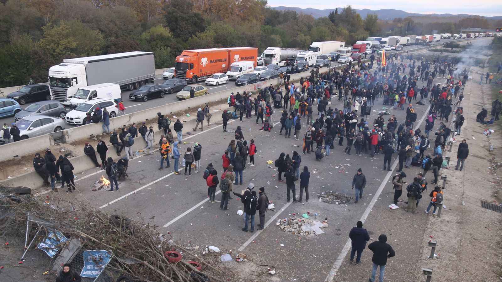 L'anàlisi d'Antoni Bassas: '¿Hi ha dret a tallar l'autopista?'