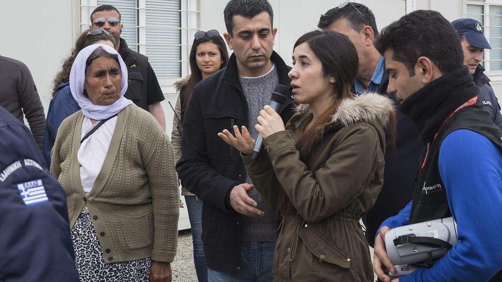 Nadia Murad, la veu de les dones iazidites al món