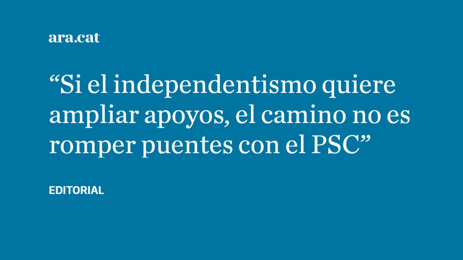 ¿Qué gana el independentismo vetando a Iceta?