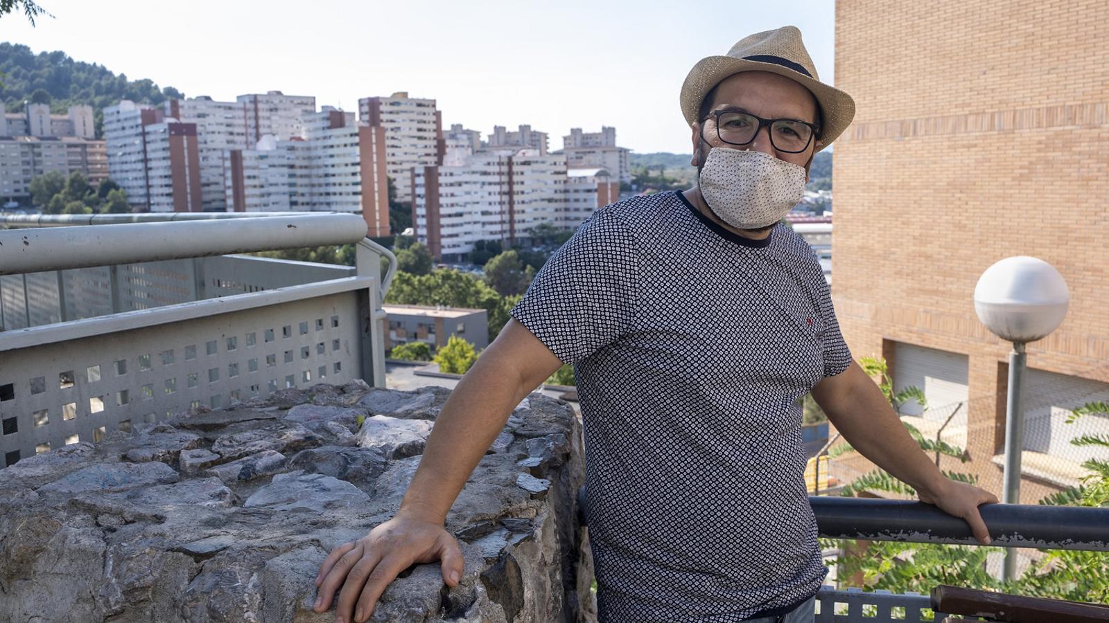 La família de Daniel Heredia, de Nou Barris, sobreviu com pot amb els 670 euros que cobra de la renda garantida.