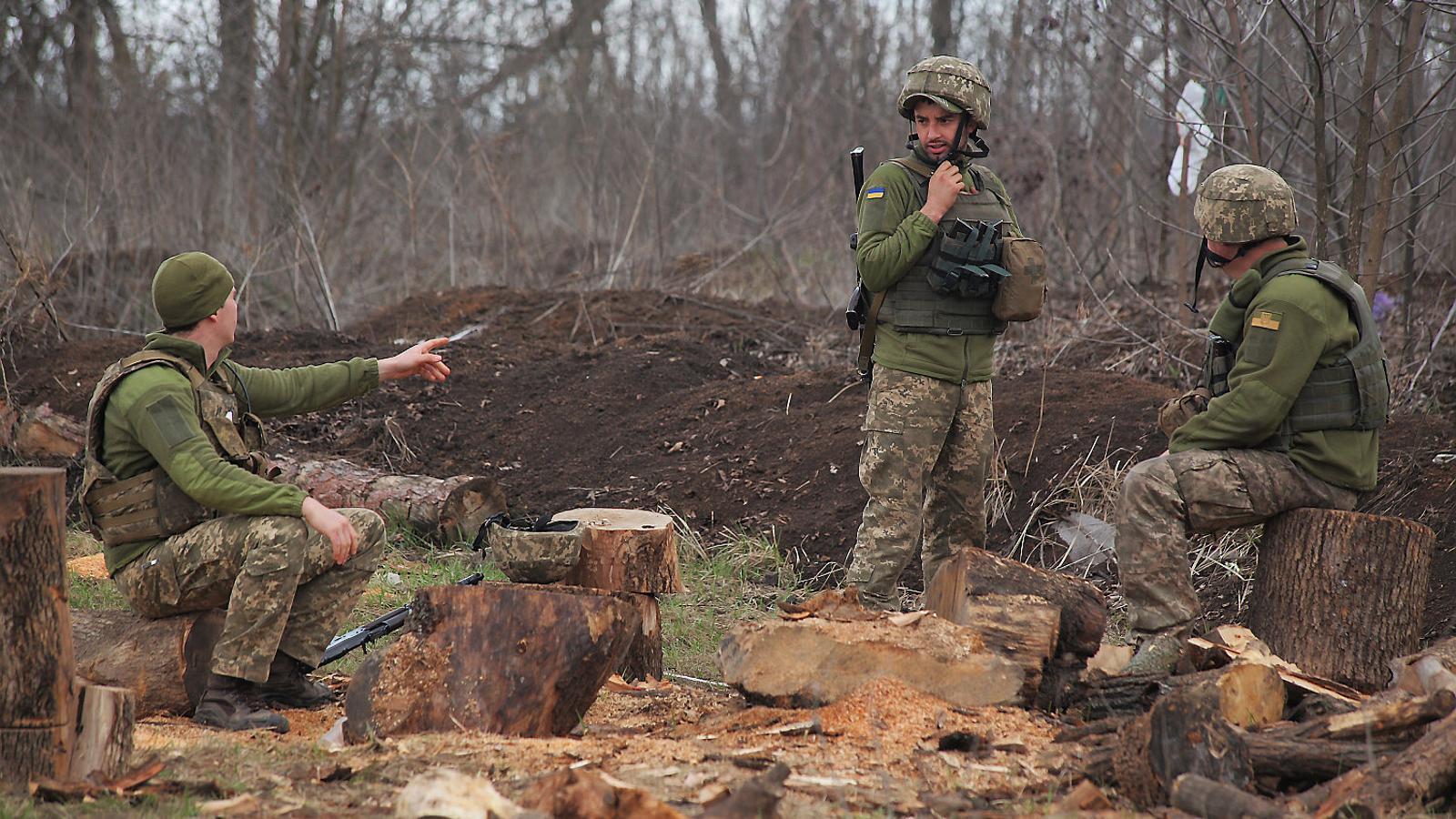 La frontera que veu créixer el conflicte entre Rússia i Ucraïna