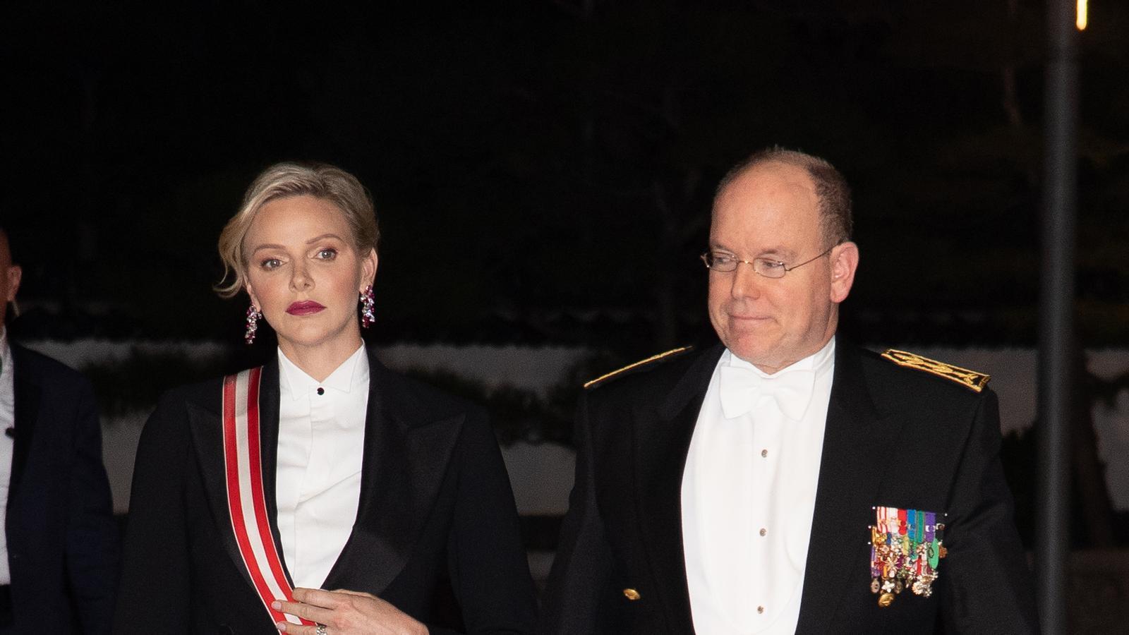 El 'look' sense precedents de Charlene de Mònaco per a la seva festa nacional