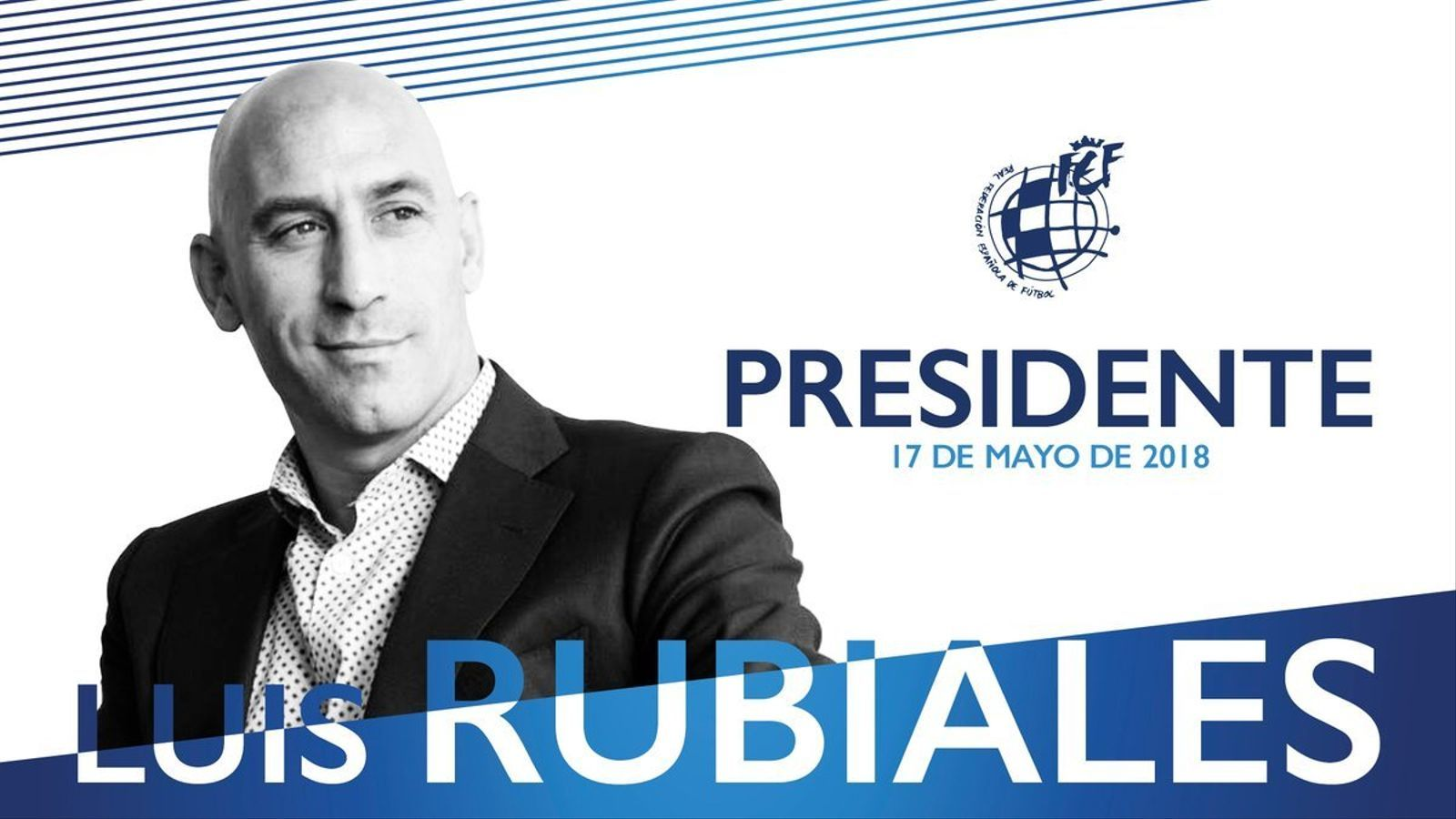 Luis Rubiales, elegit com a nou president de la Federació Espanyola de Futbol