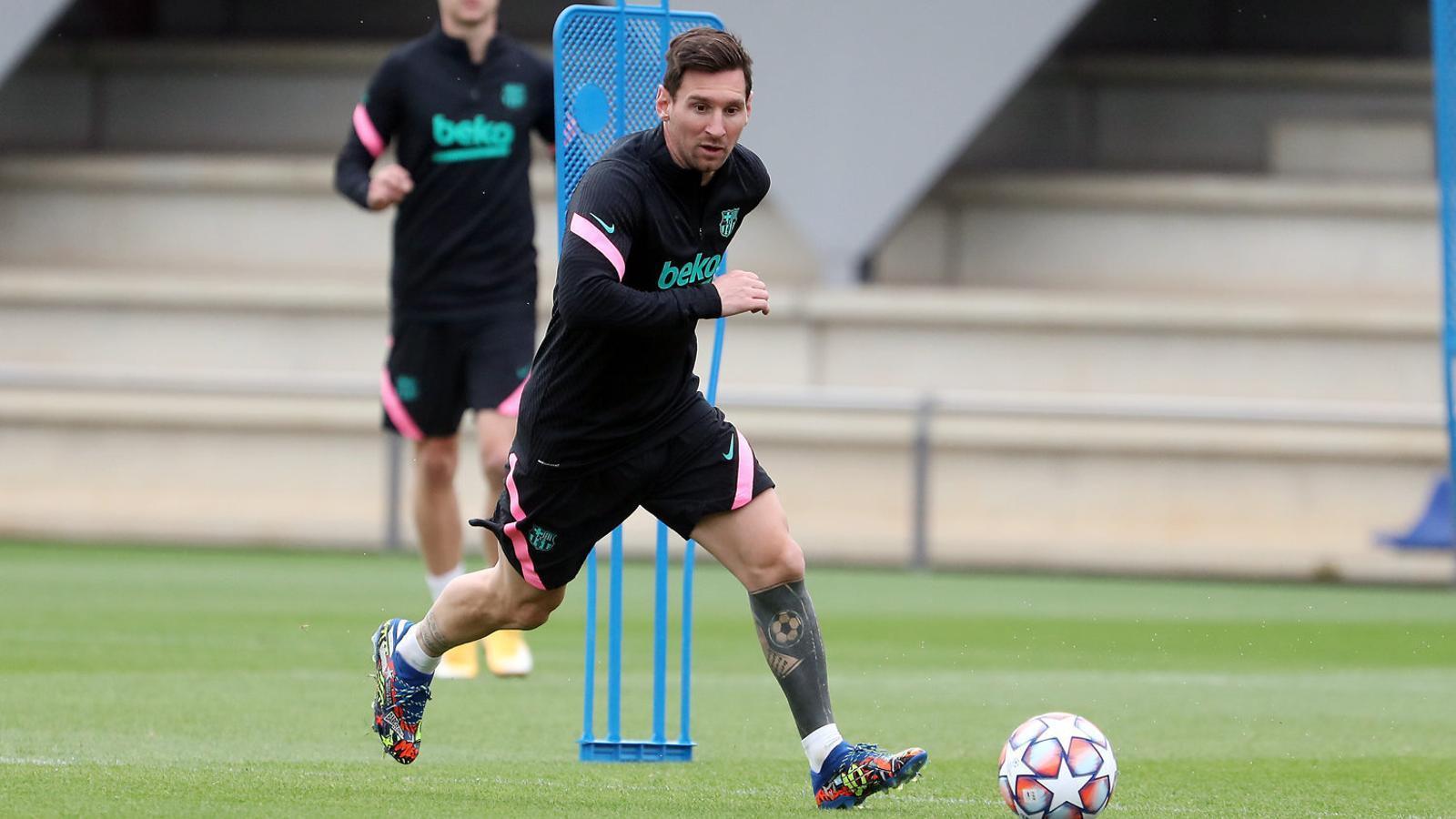 El Barça necessita la millor versió de Messi, que només ha pogut celebrar un gol en aquest inici de curs.