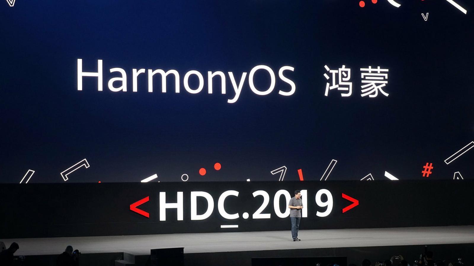 Richard Yu la setmana passada durant una conferència al Huawei Developer Conference del 2019.