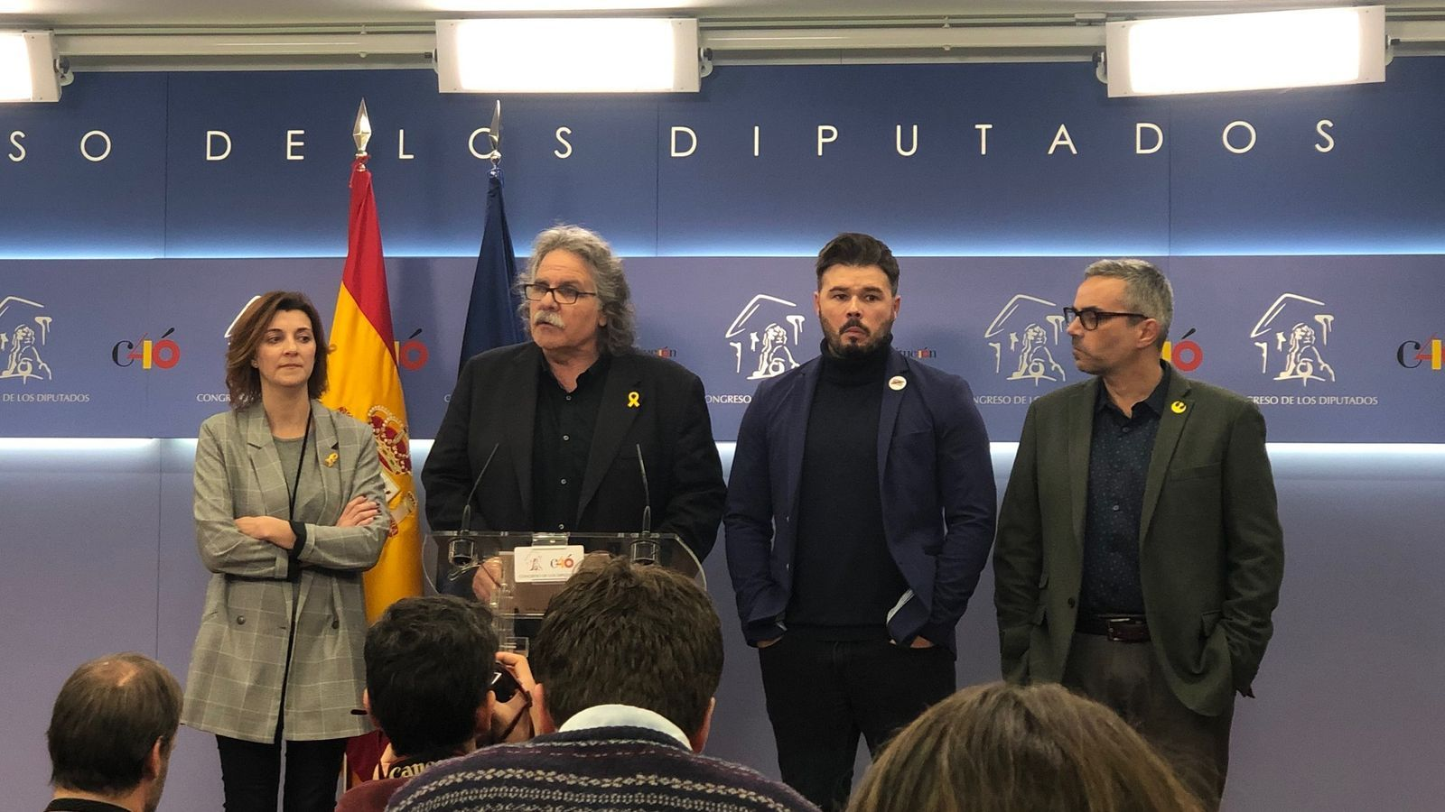 """ERC oficialitza el no als comptes de Sánchez i l'acusa de no tenir """"interès"""" pel diàleg"""