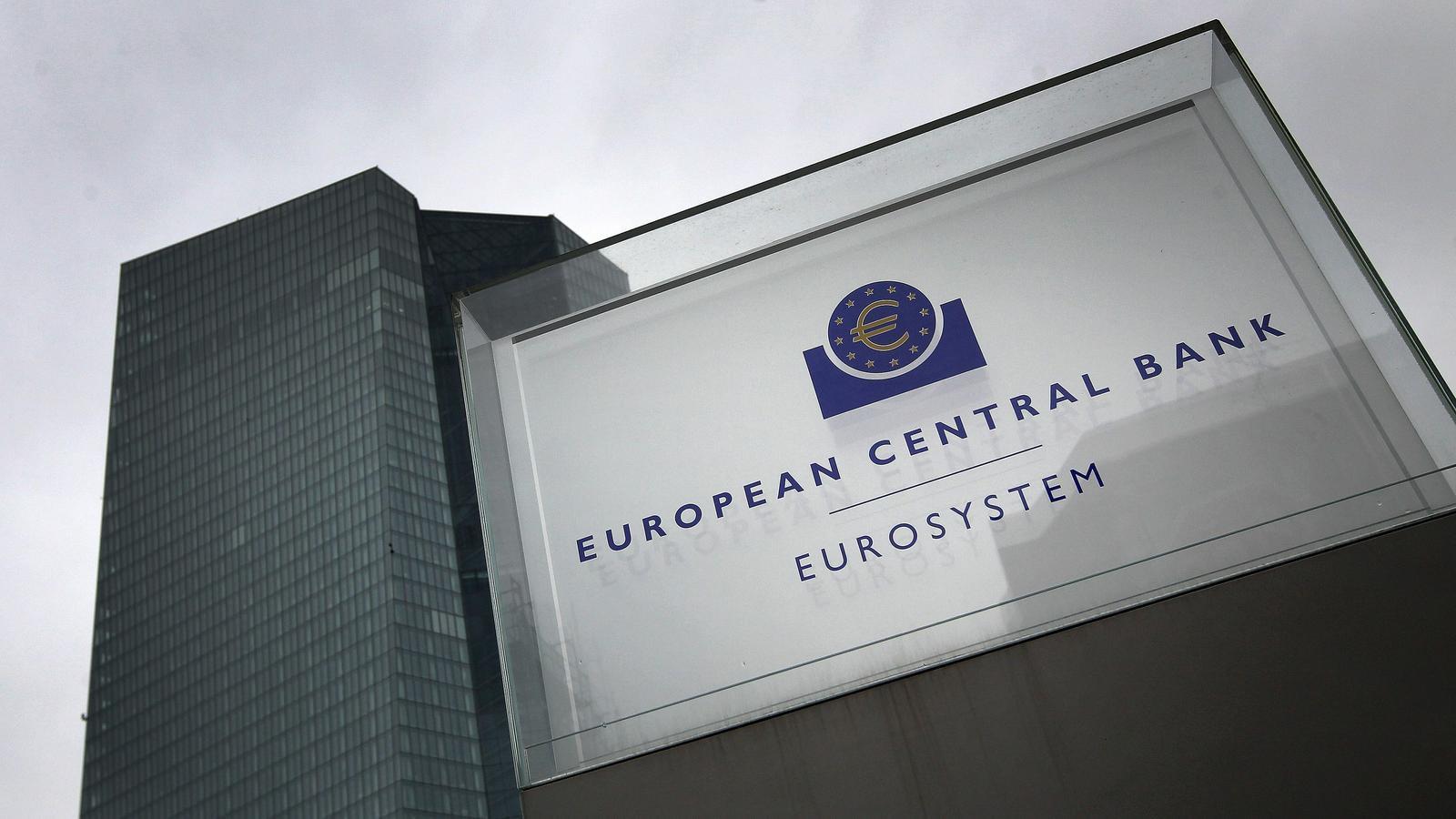 La seu del Banc Central Europeu, a la ciutat alemanya de Frankfurt.