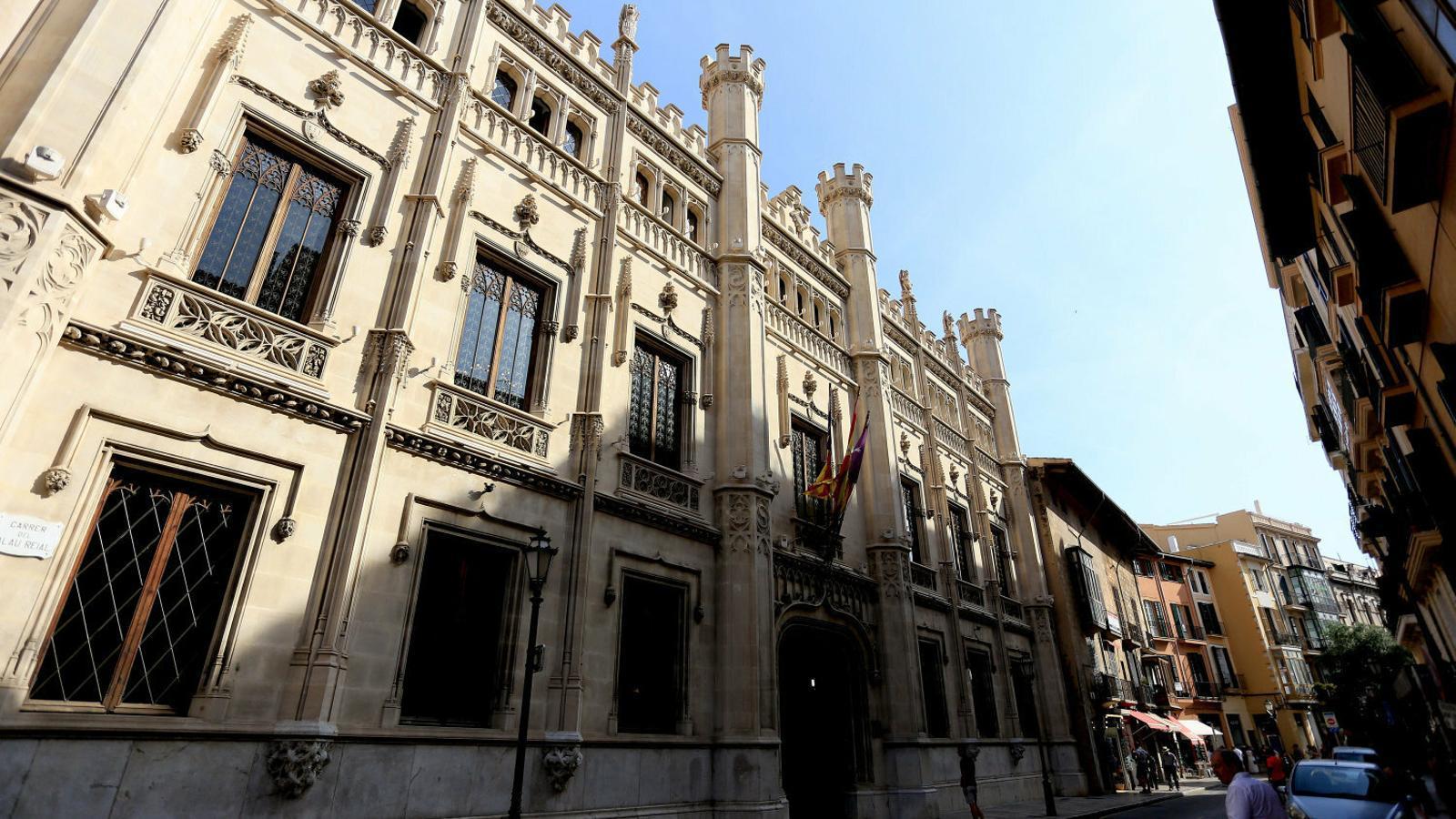 MÉS i Podem preparen una contraoferta d'organigrama  Al Consell de Mallorca