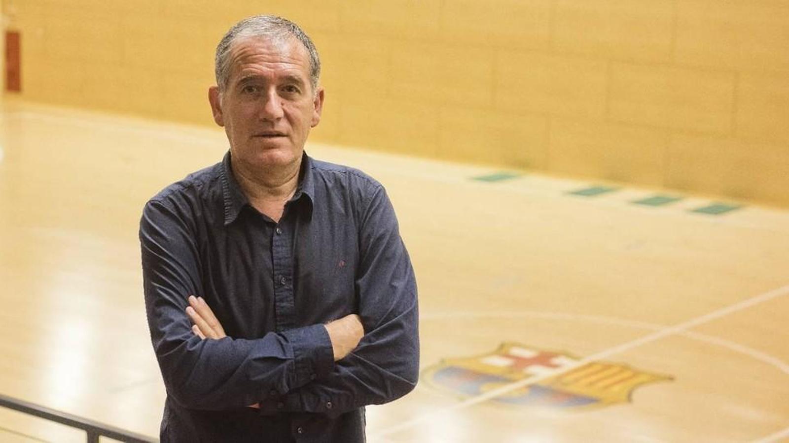 Andreu Plaza és el nou tècnic del Barça Lassa