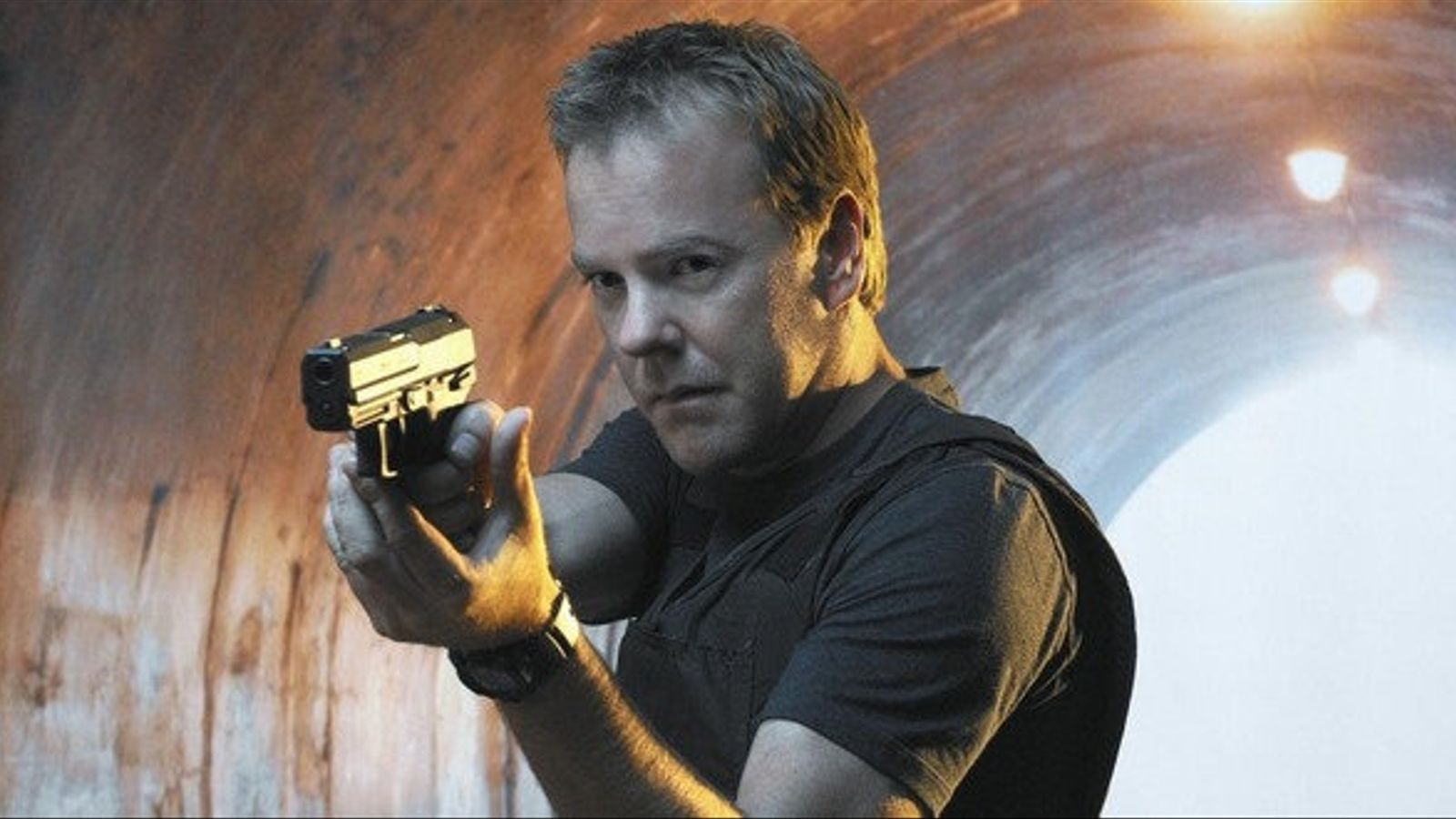 Kiefer Sutherland en el seu paper de Jack Bauer.
