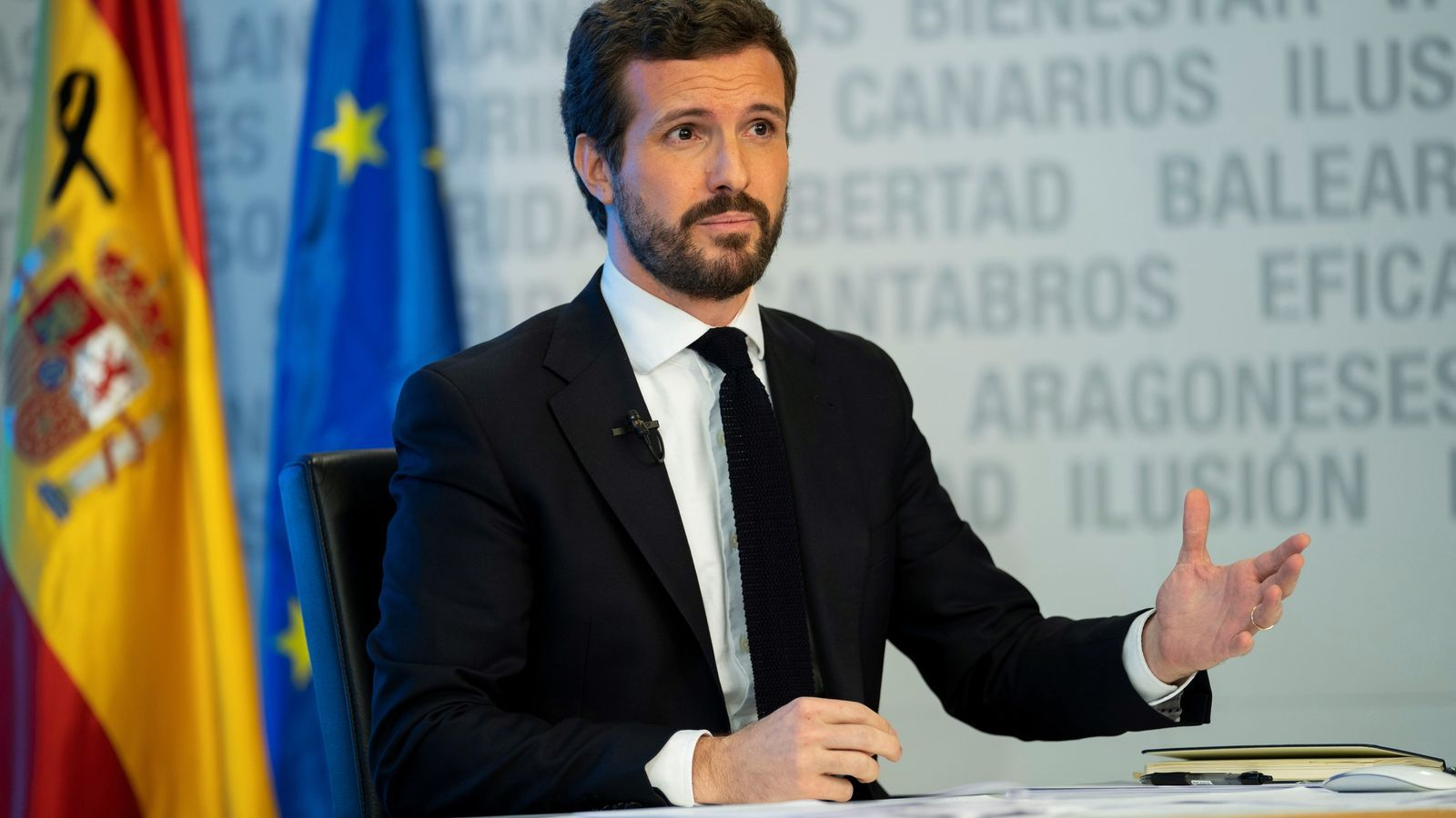 Casado adverteix Sánchez que no avalarà els decrets econòmics si no hi ha canvis