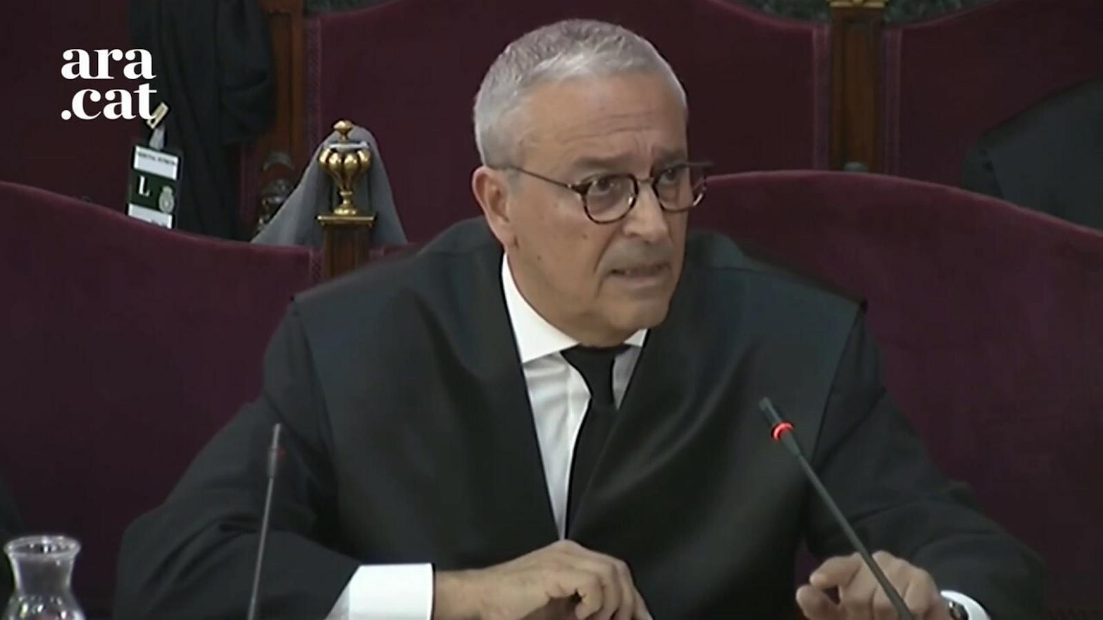 """Melero: """"En aquest judici, la mera menció als nazis pot contaminar la percepció que aquí es tingui"""""""