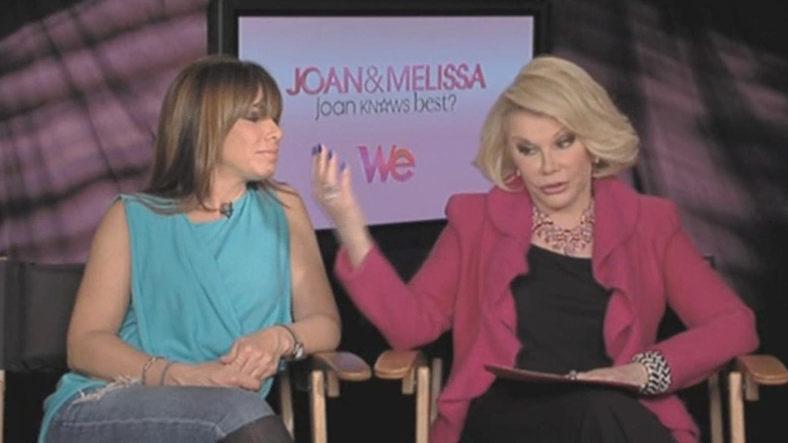 Com aniran vestides les nominades als Oscars? Les comediants Joan i Melissa Rivers fan els seus pronòstics
