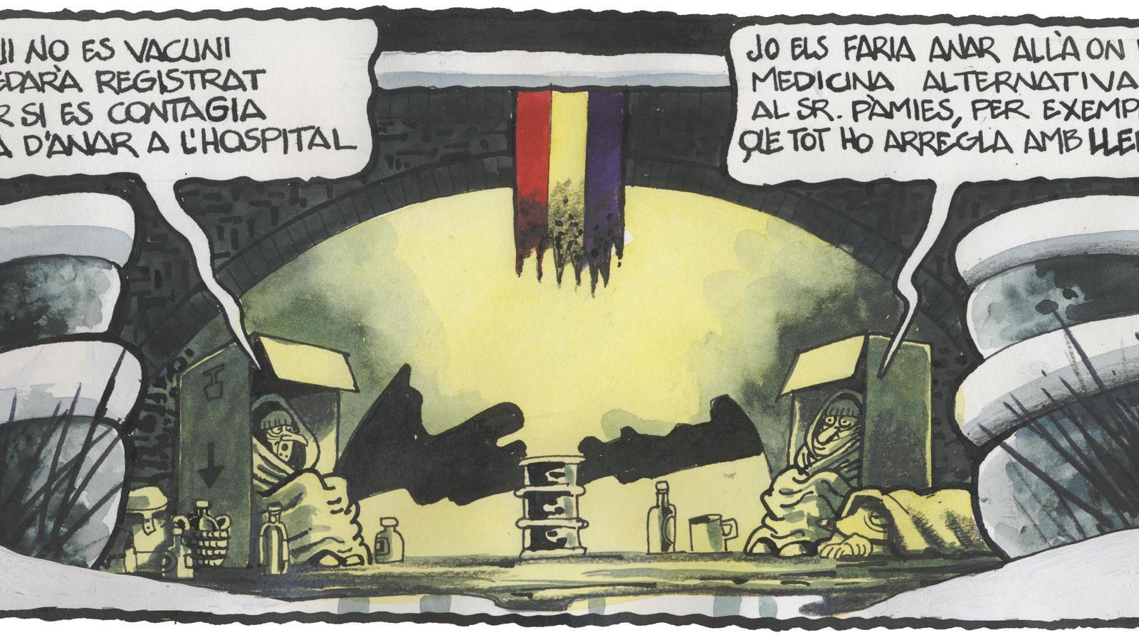 'A la contra', per Ferreres 13/01/2021