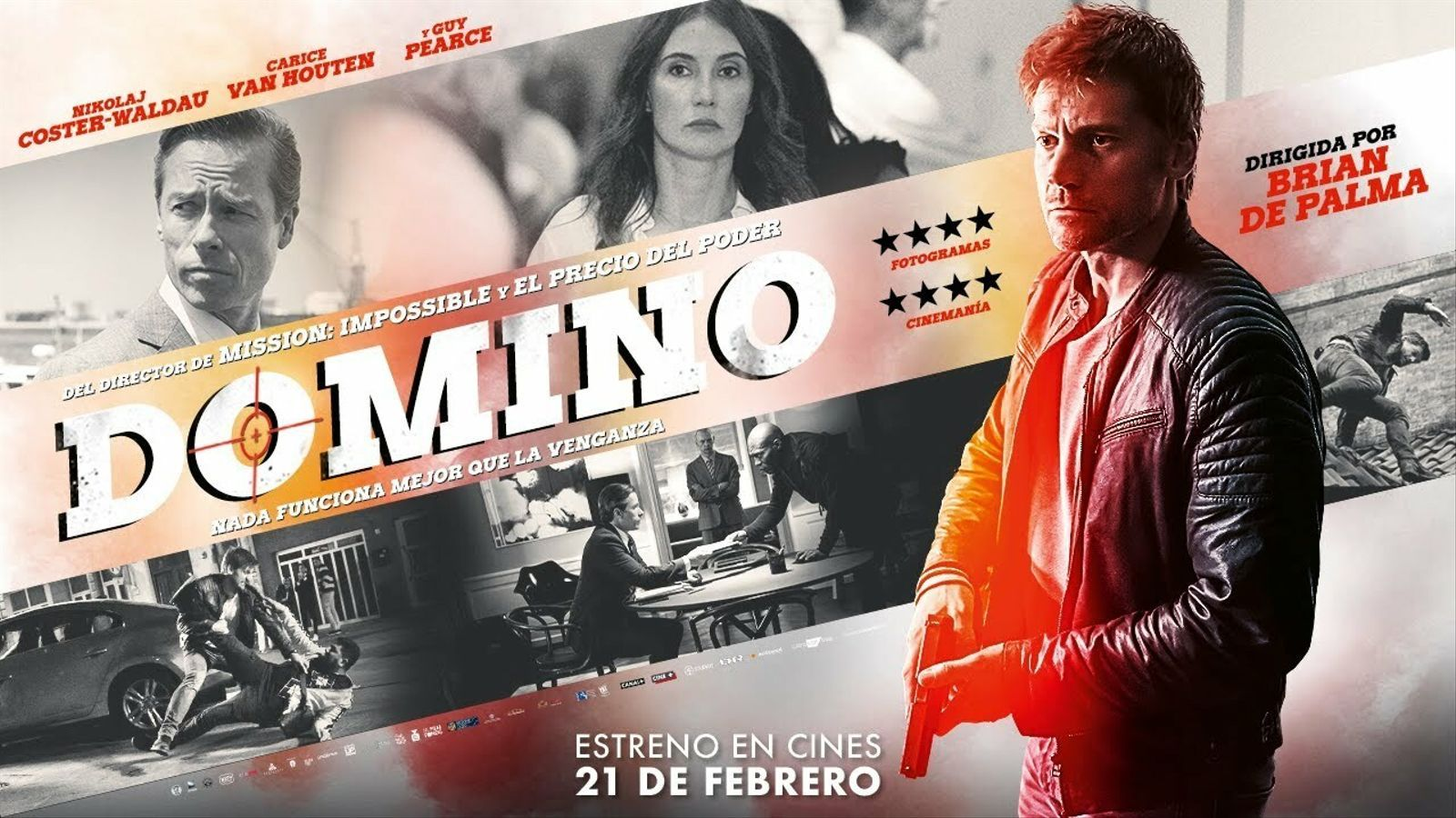 'Domino', tràiler