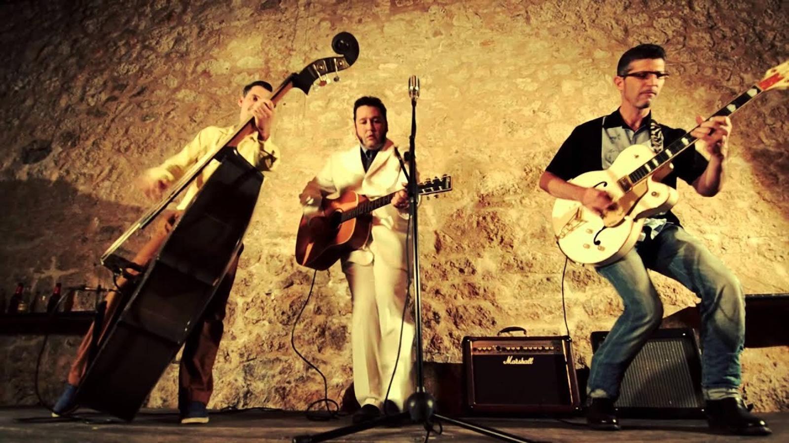 Biel Alimanya & The Folsom Rockers, un dels grups que conformen aquest cicle
