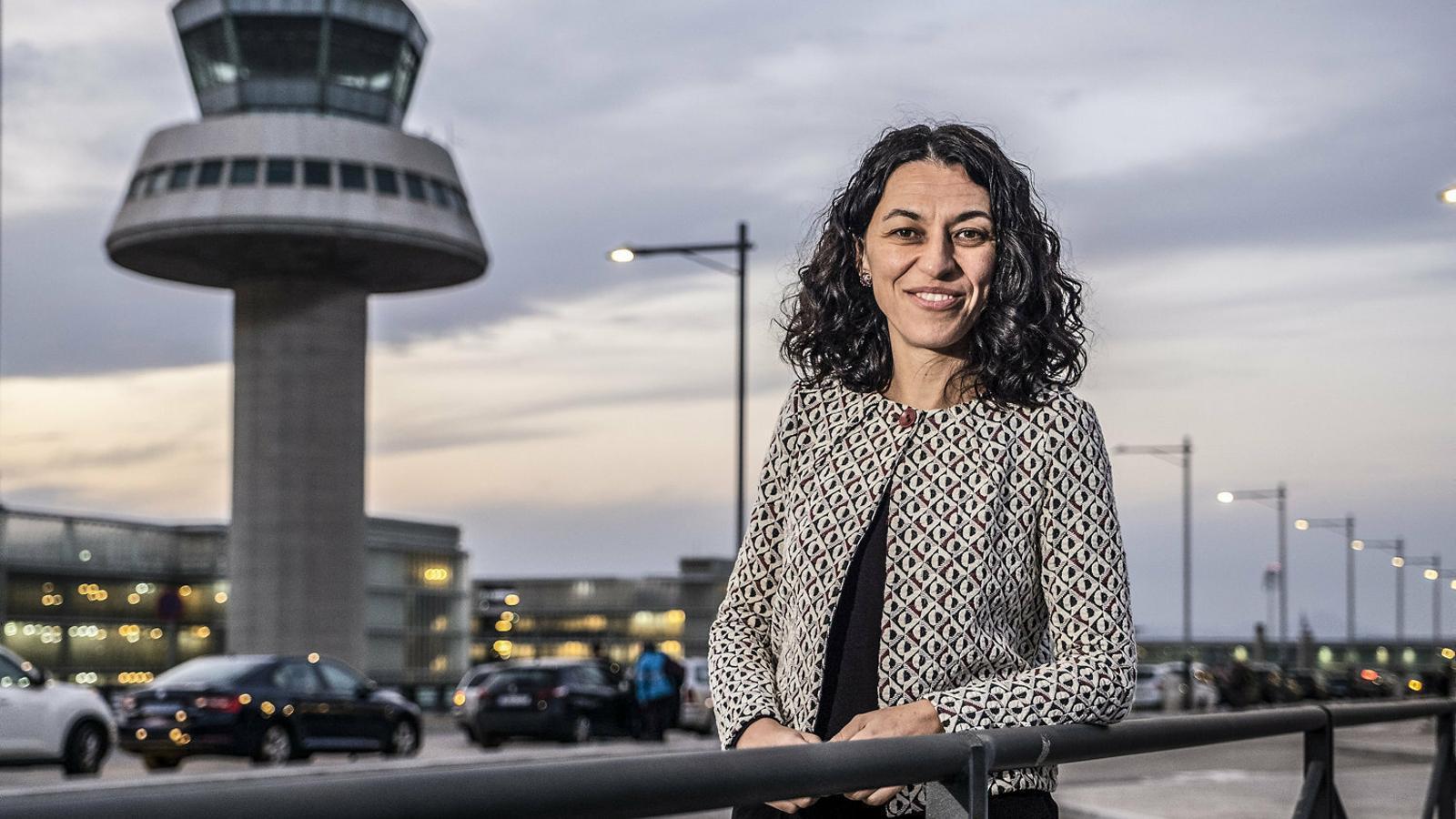 """Entrevista a la directora de l'aeroport: """"L'única manera de consolidar el Prat com a 'hub' és que tingui més capacitat"""""""
