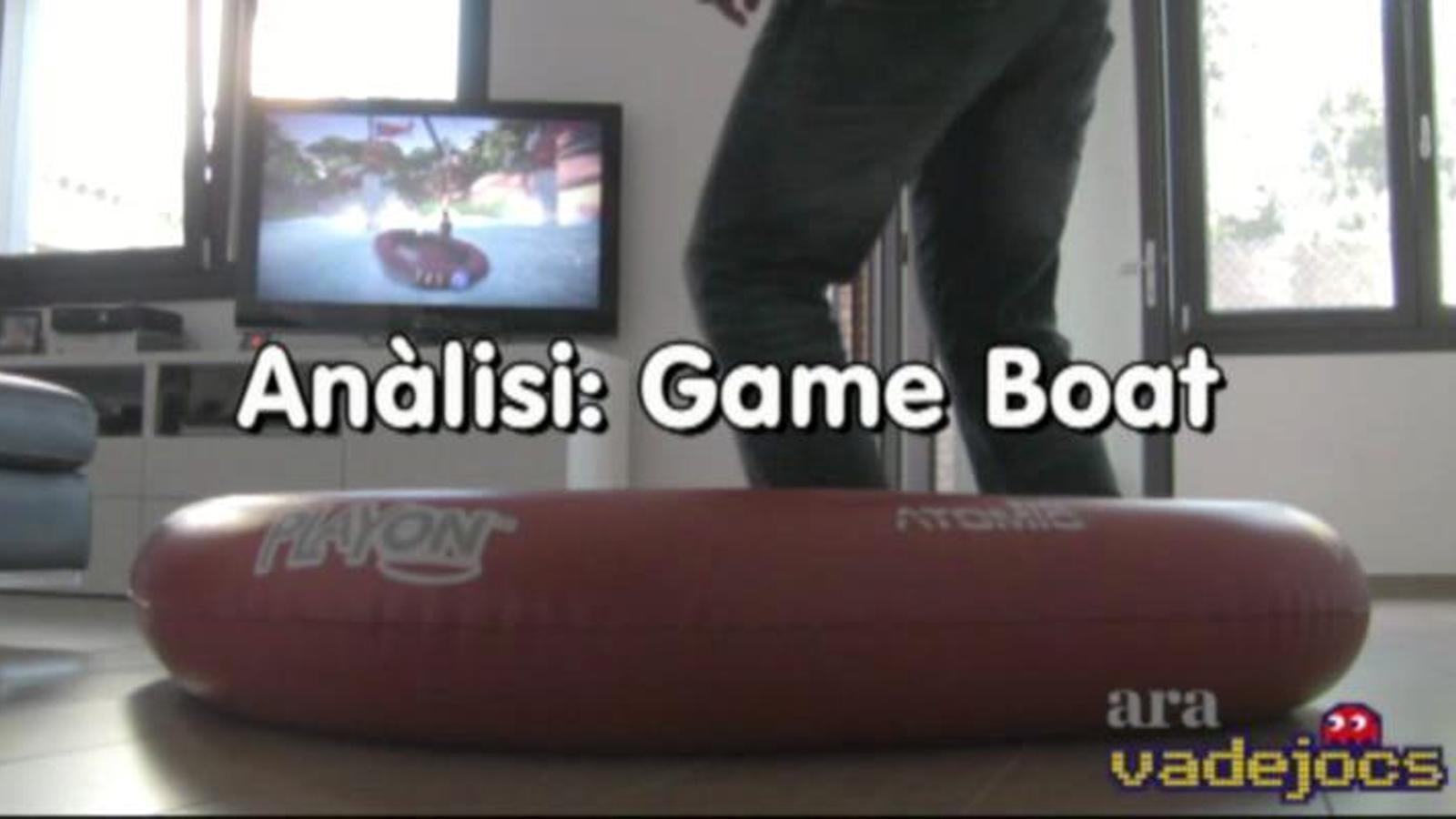 Videoanàlisi de la Game Boat per a Xbox 360 Kinect.