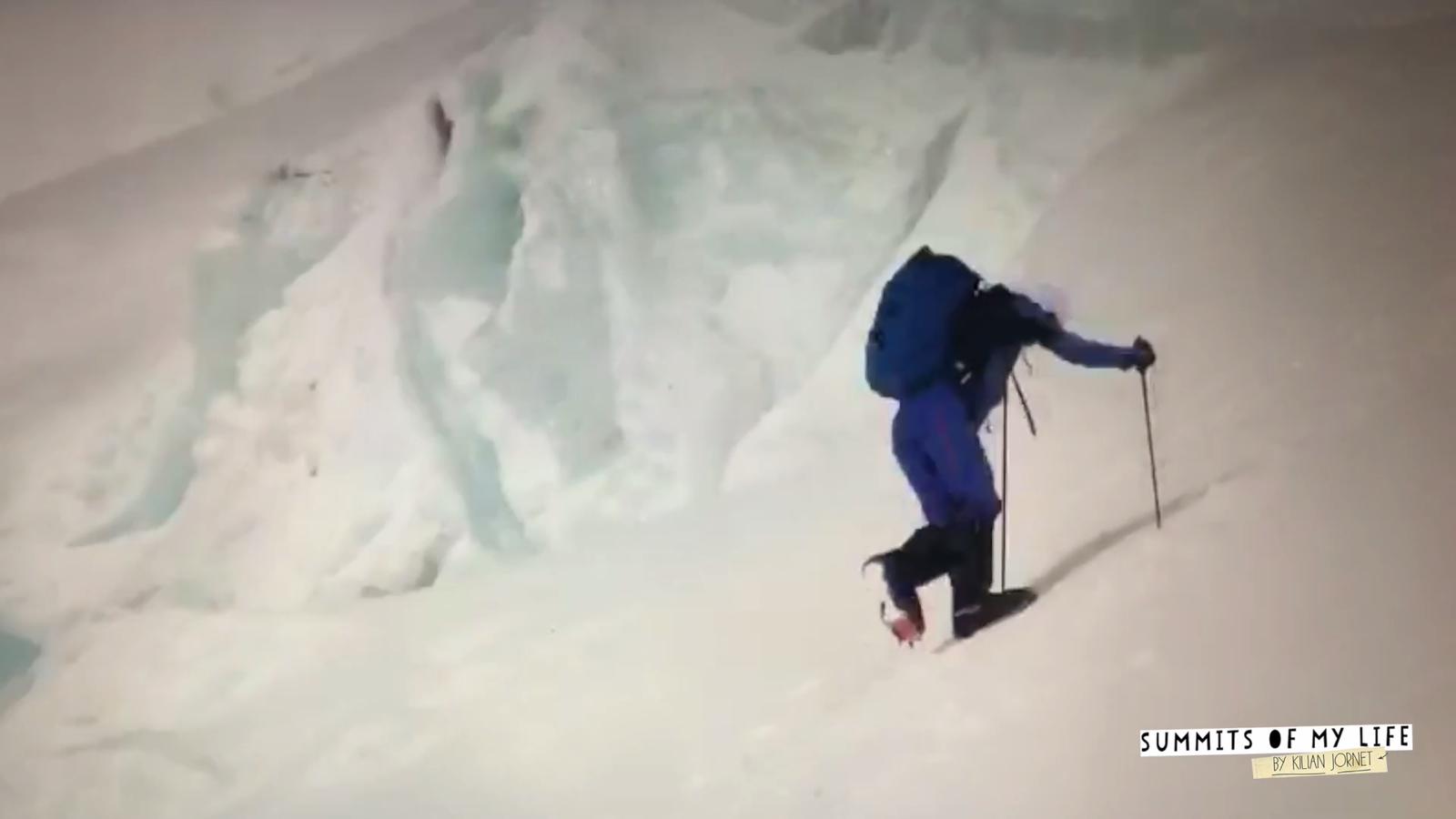 Les primeres imatges de Kilian Jornet a l'Everest