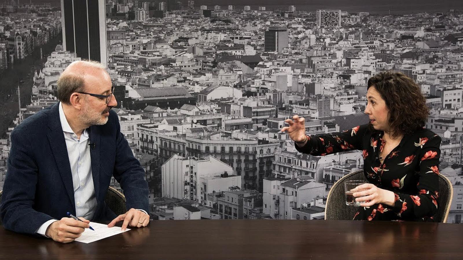 Entrevista d'Antoni Bassas a Judit Martín