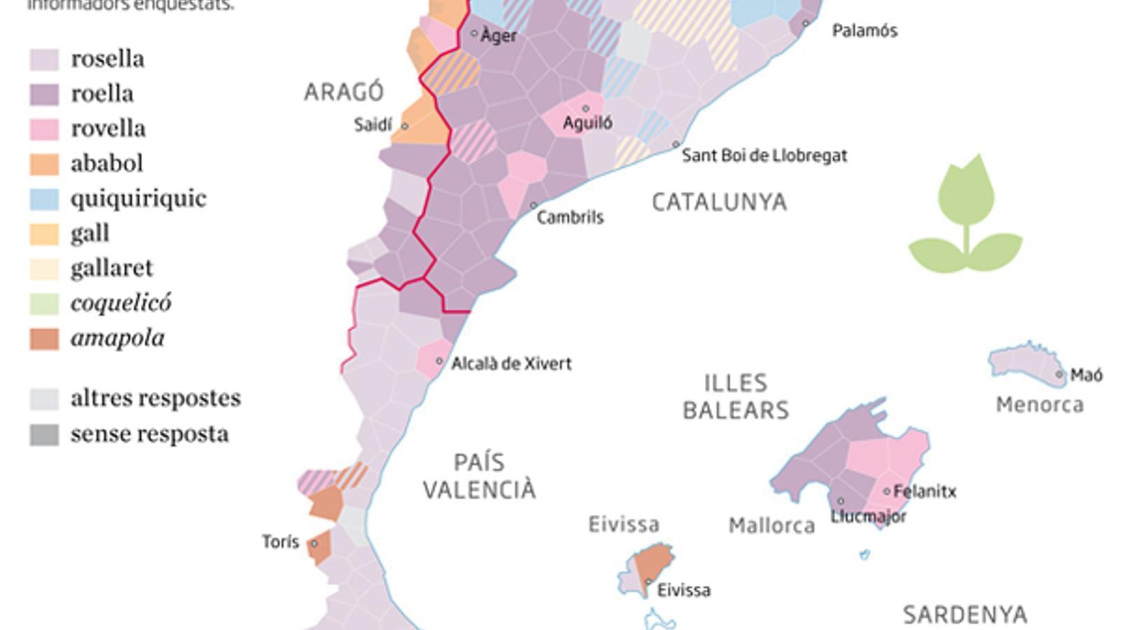 Atles del català que  es parlava  fa mig segle