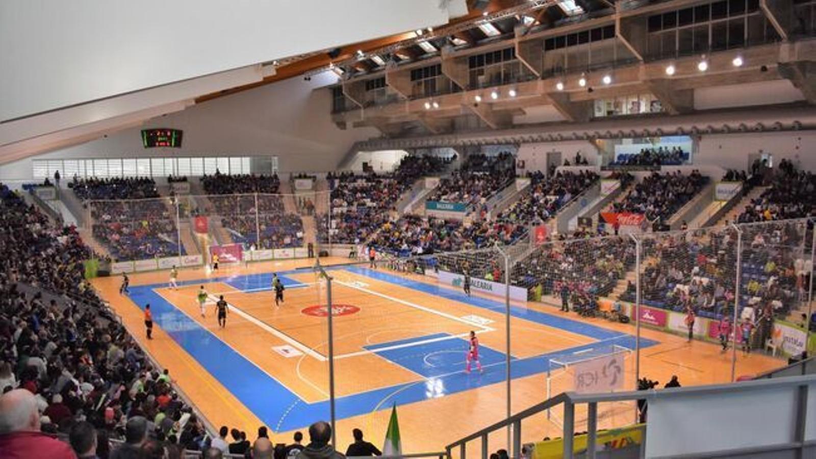 Imatge general del Palau d'Esports de Son Moix / PALMA FUTSAL