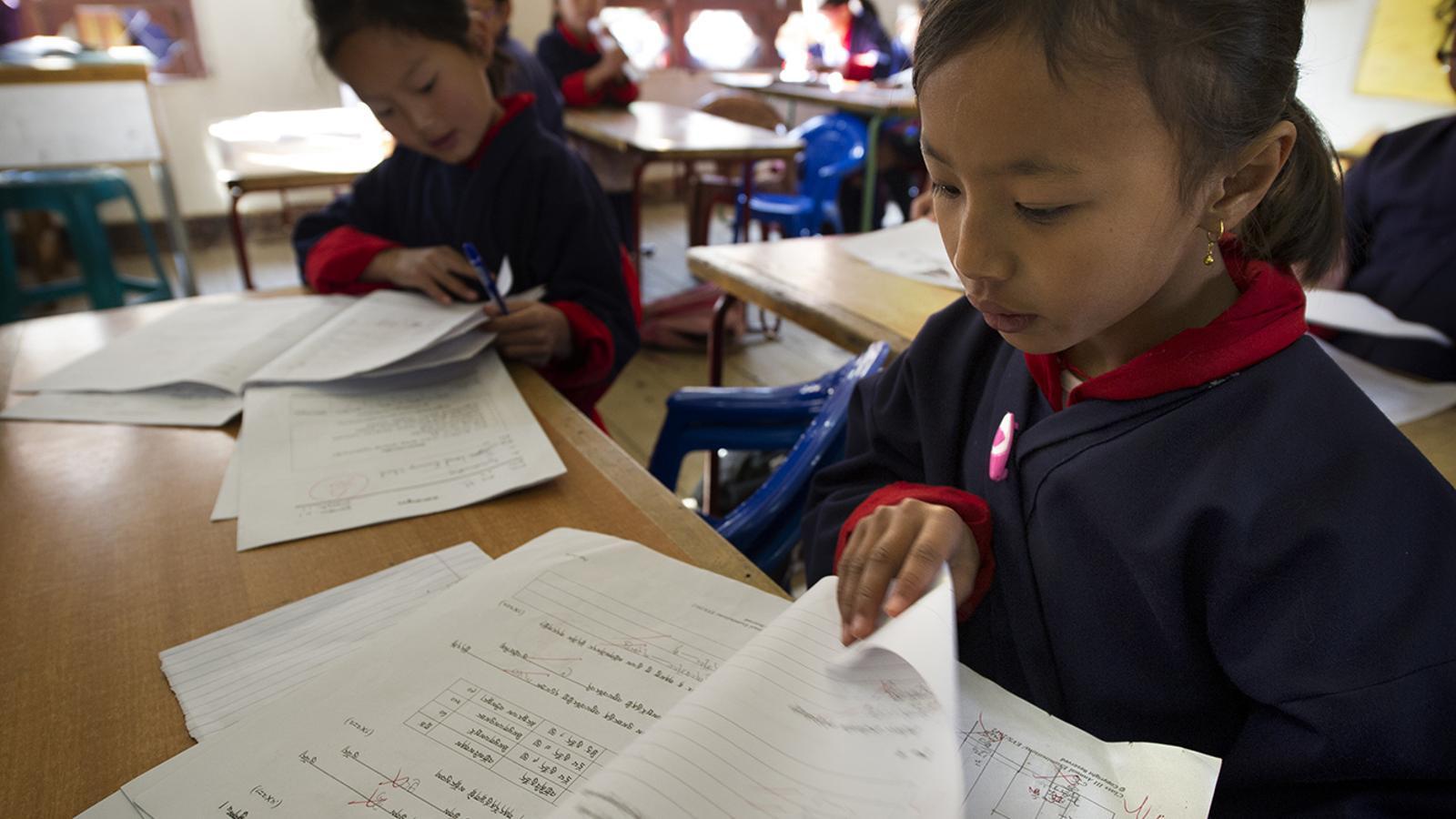 Els diners donats serviran per ajudar als infants de Bhutan. / Unicef