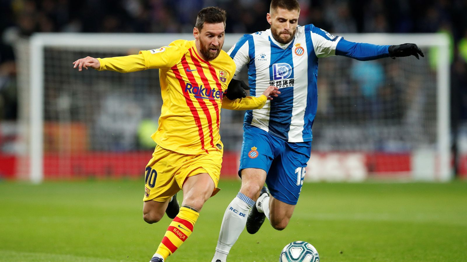 Messi i David López