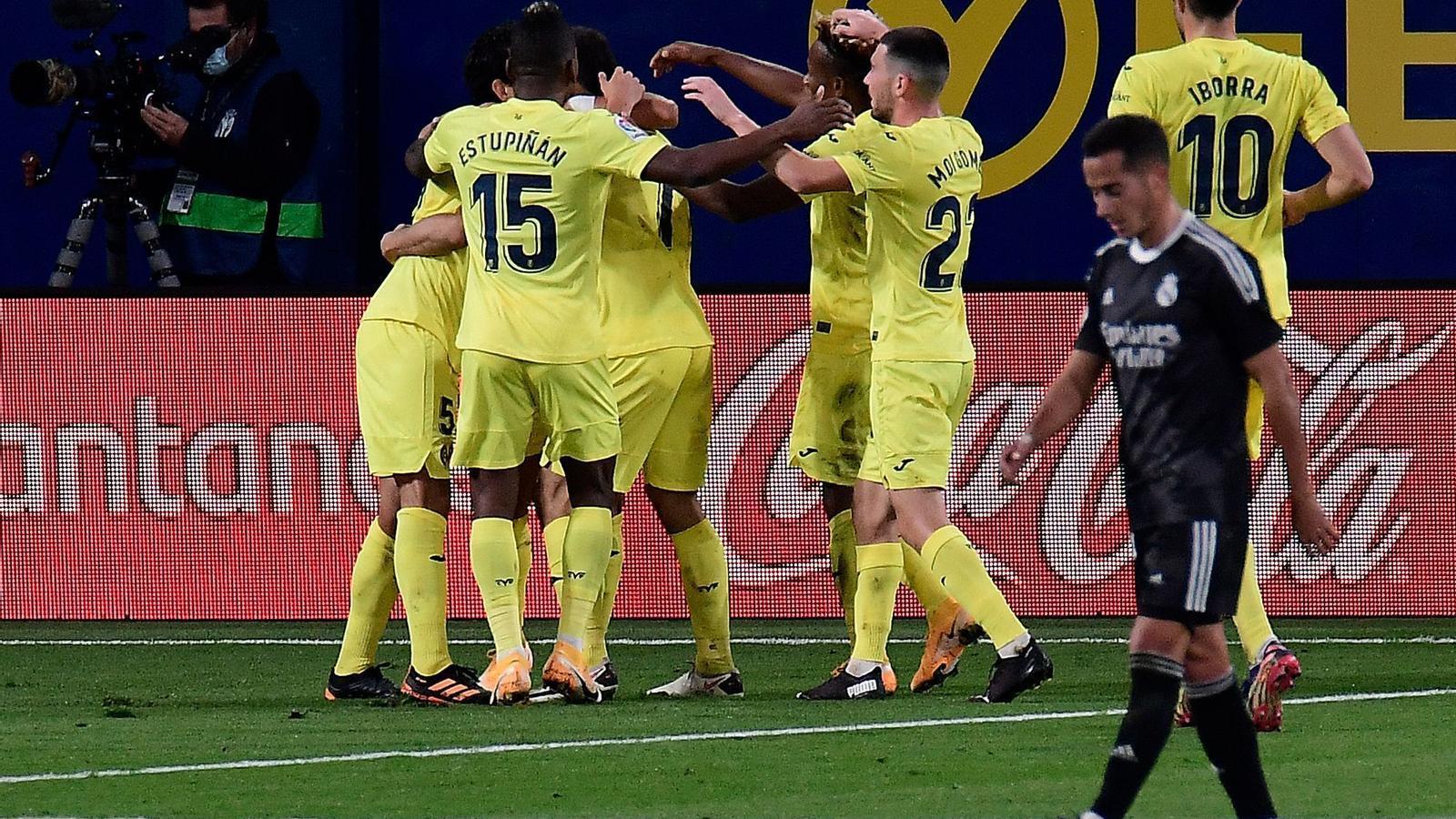 El Madrid encaixa un nou gol de penal i empata amb el Vila-real (1-1)