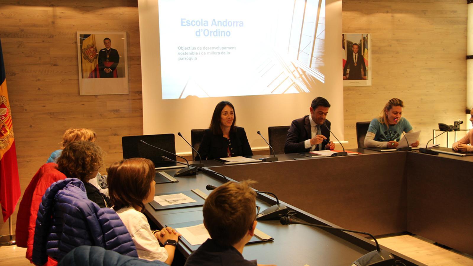 El Consell d'infants d'Ordino. / COMÚ D'ORDINO