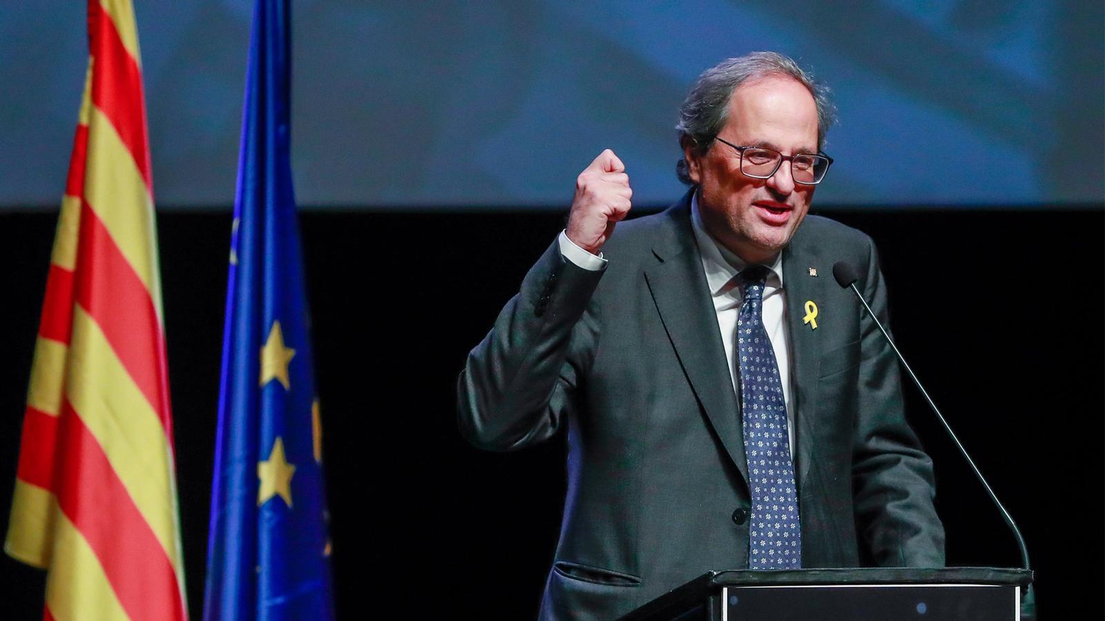 L'anàlisi d'Antoni Bassas: 'La via eslovena de Torra i el descontentament que creix'