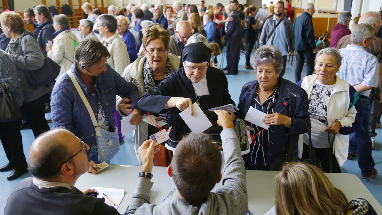 Un 78,7% de los catalanes se muestran partidarios del referéndum