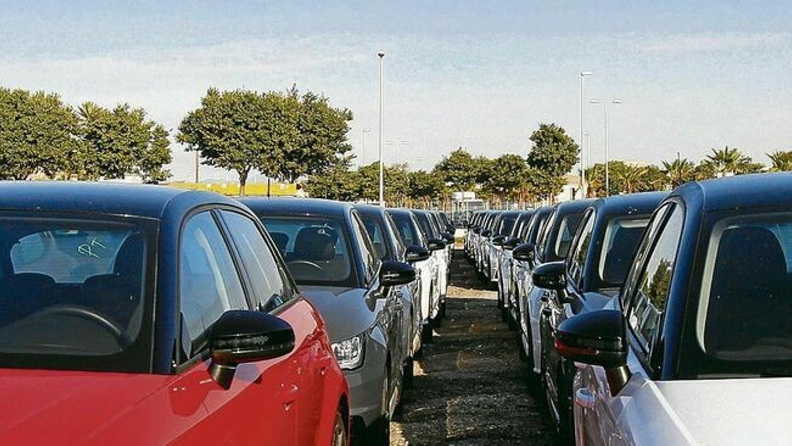 Cauen en picat les vendes de vehicles dièsel a les Illes