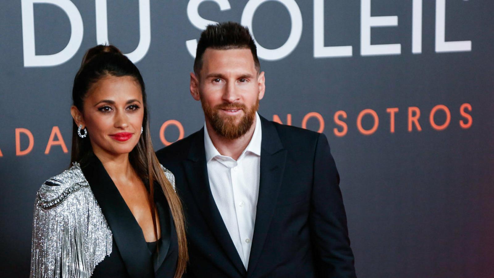 Leo Messi i el Cirque du Soleil despleguen la catifa vermella