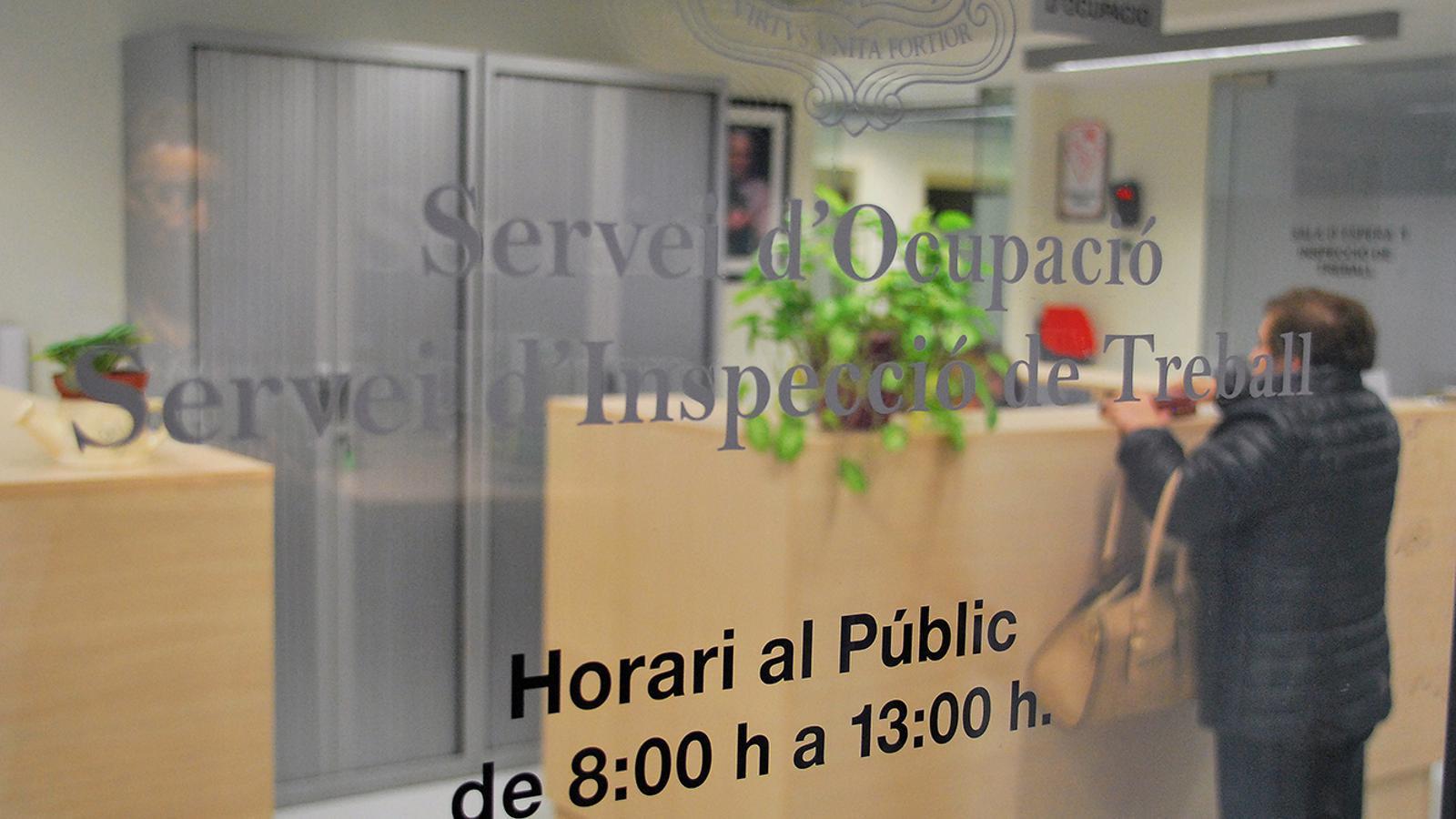 El Servei d'Ocupació. / ARXIU