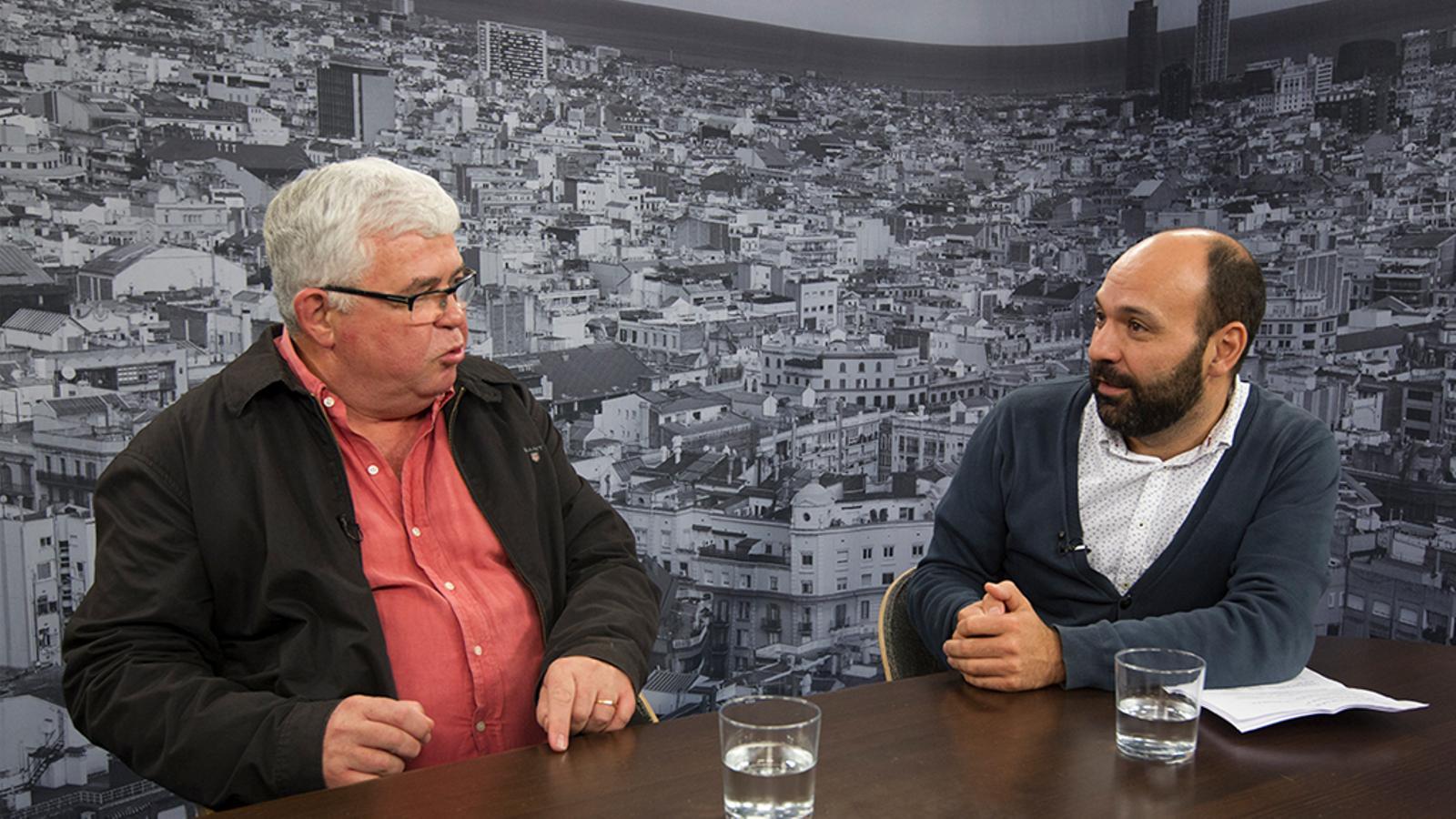 """Alcoberro (ANC): """"Hem de fer accions que efectin el gran capital, l'Ibex 35 i l'estabilitat de l'euro"""""""