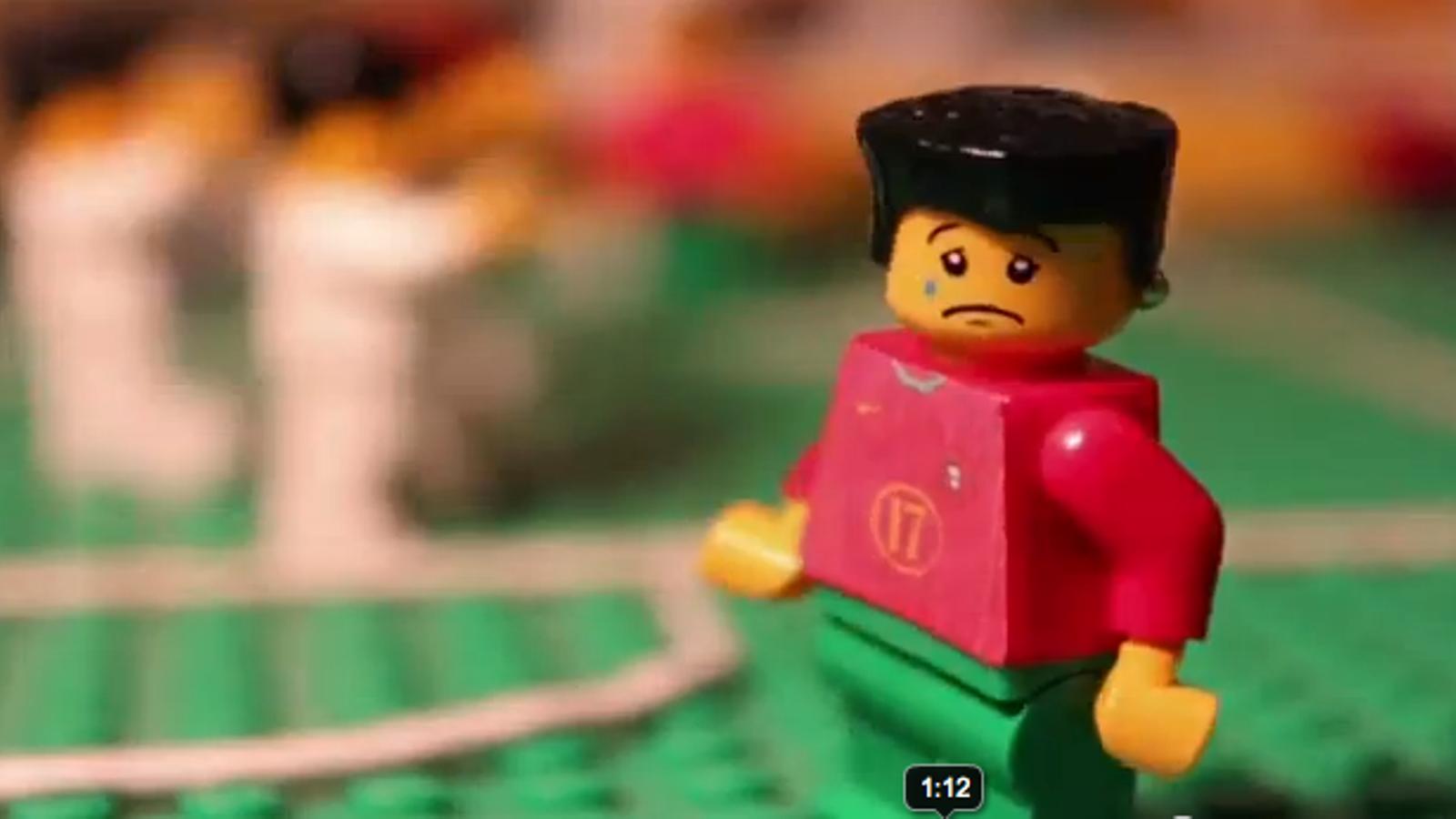 Els millors moments de l'Eurocopa, en Lego