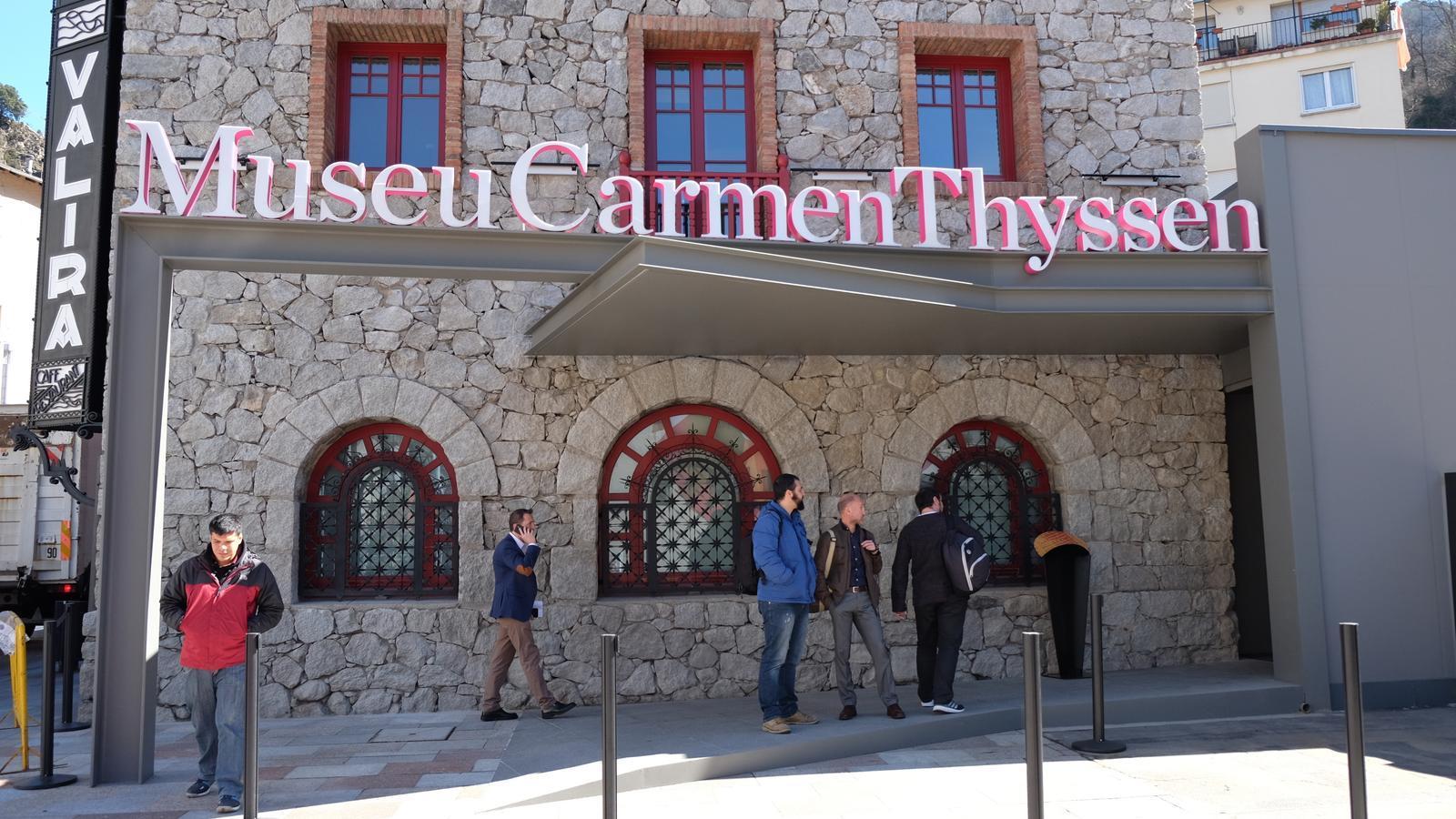 El Museu Carmen Thyssen Andorra. / ARXIU ANA